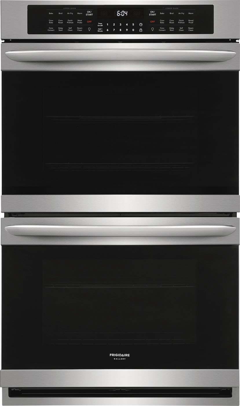 "Frigidaire Gallery 30"" Double Electric Wall Oven with Air Fry"