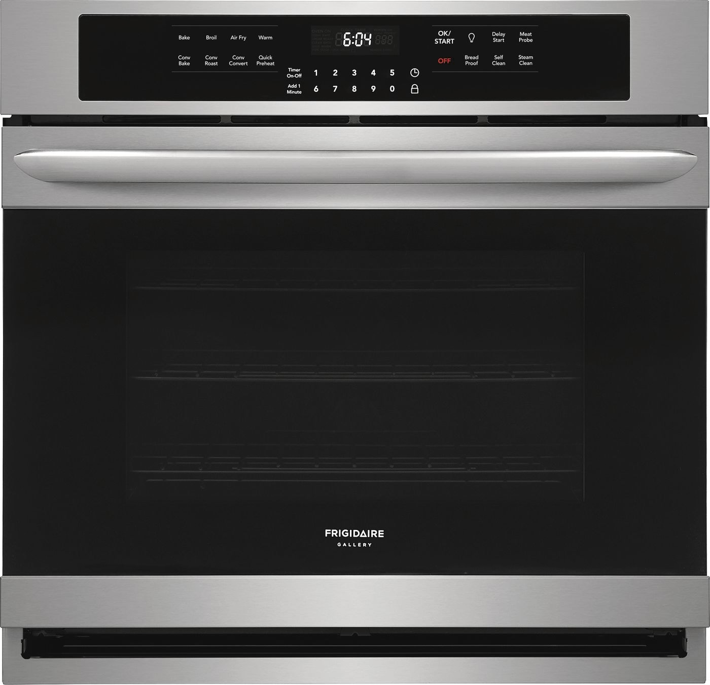 "Frigidaire Gallery 30"" Single Electric Wall Oven with Air Fry"