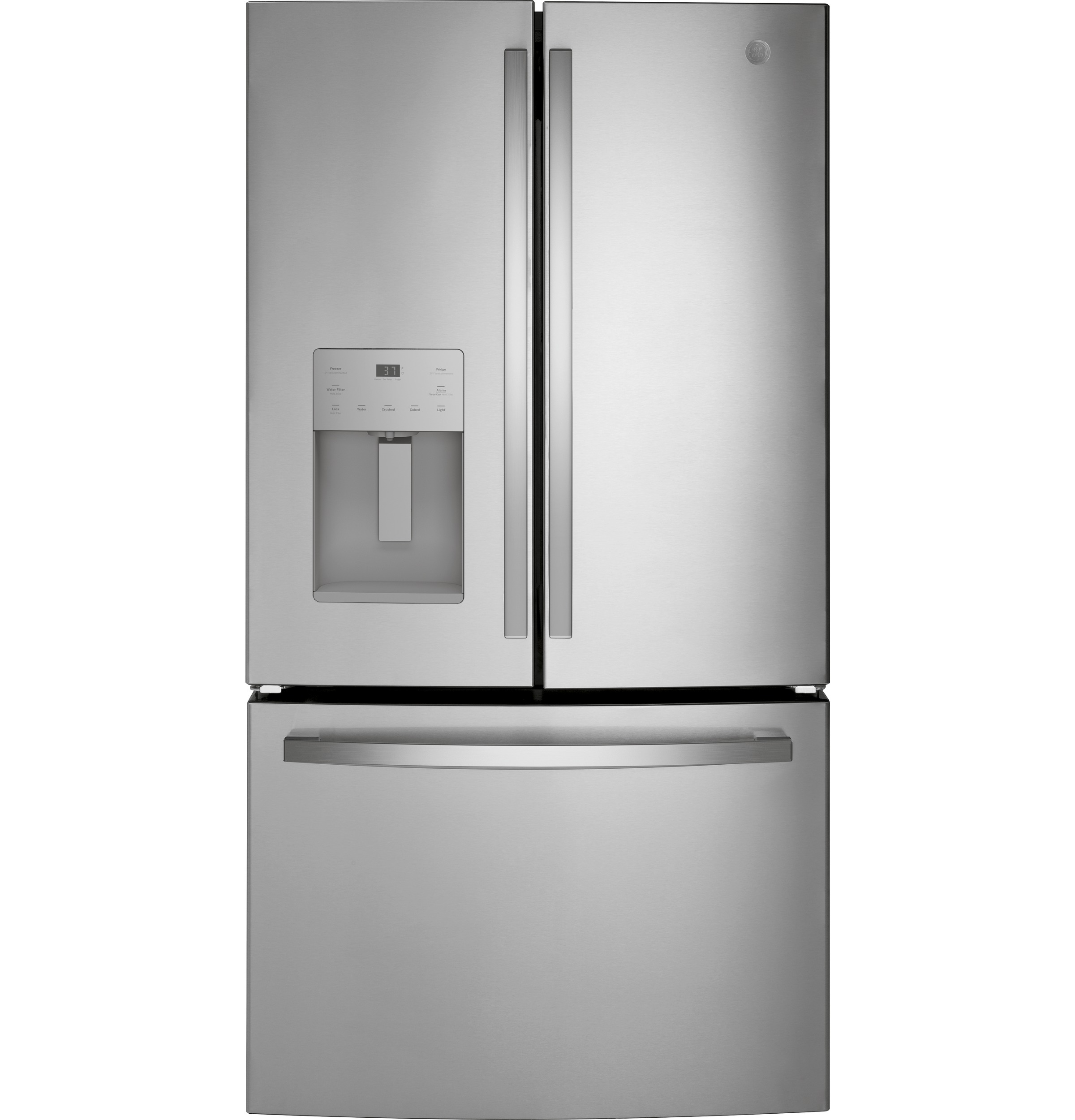 GE GE® ENERGY STAR® 25.6 Cu. Ft. Fingerprint Resistant French-Door Refrigerator