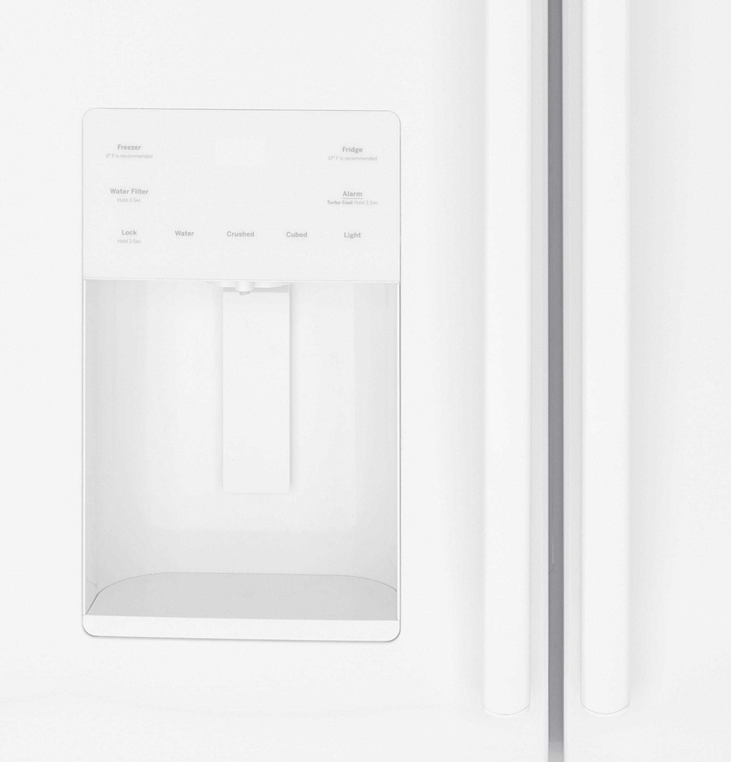 Model: GFE26JGMWW | GE GE® ENERGY STAR® 25.6 Cu. Ft. French-Door Refrigerator
