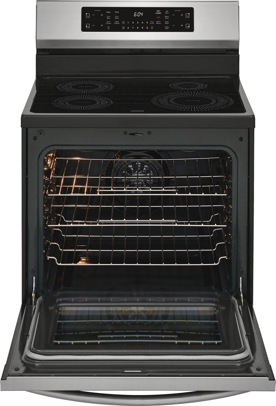 "Model: GCRI3058AF | Frigidaire Gallery 30"" Freestanding Induction Range with Air Fry"