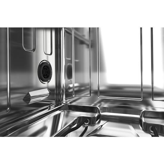 Model: KDFE204KWH | KitchenAid 39 dBA Dishwasher with Third Level Utensil Rack