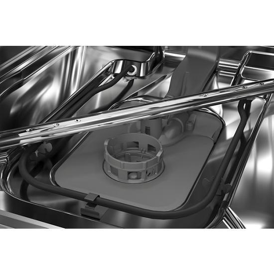 Model: KDTE204KBL | KitchenAid 39 dBA Dishwasher with Third Level Utensil Rack