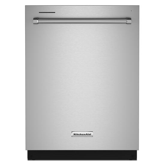 KitchenAid 39 dBA Dishwasher in PrintShield™ Finish with Third Level Utensil Rack