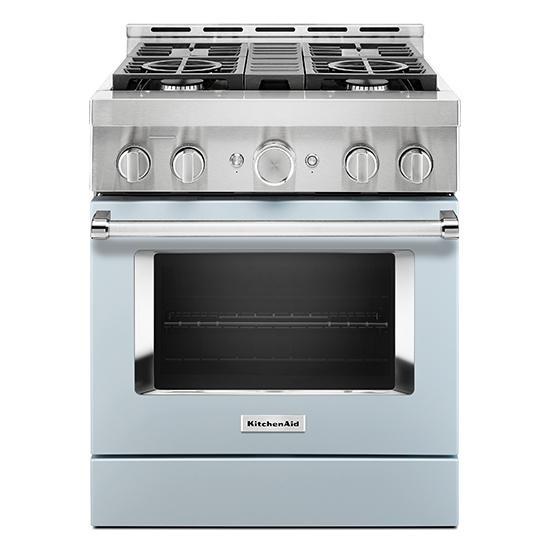 Model: KFGC500JMB   KitchenAid KitchenAid® 30'' Smart Commercial-Style Gas Range with 4 Burners