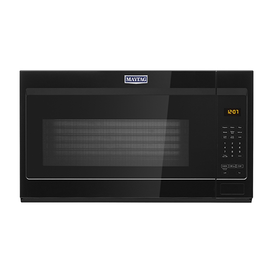 Model: MMV1175JB | Maytag Over-the-Range Microwave with stainless steel cavity - 1.9 cu. ft.