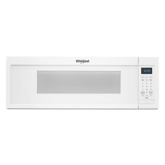 Whirlpool 1.1 cu. ft. Low Profile Microwave Hood Combination