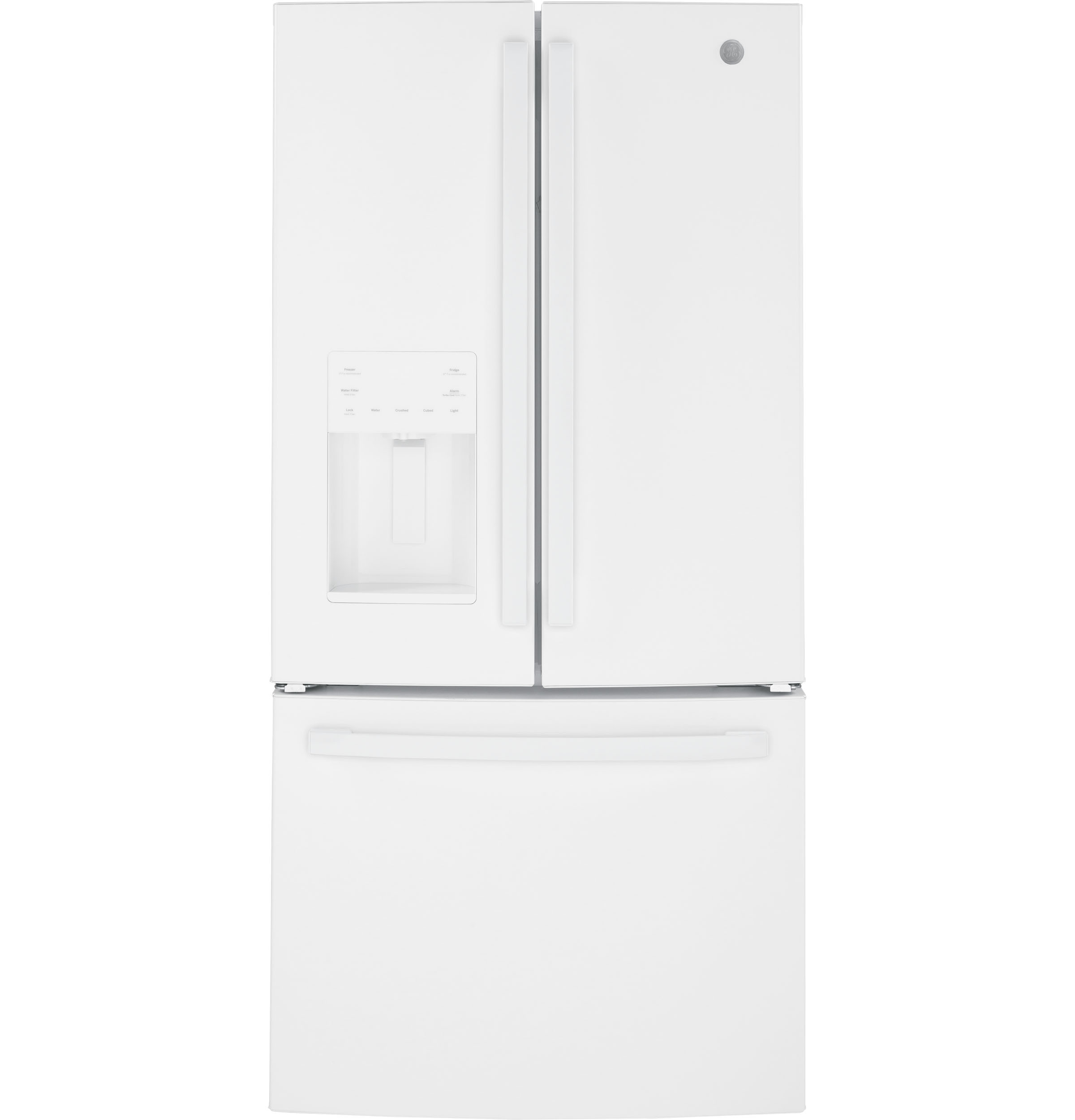 GE GE® ENERGY STAR® 23.6 Cu. Ft. French-Door Refrigerator