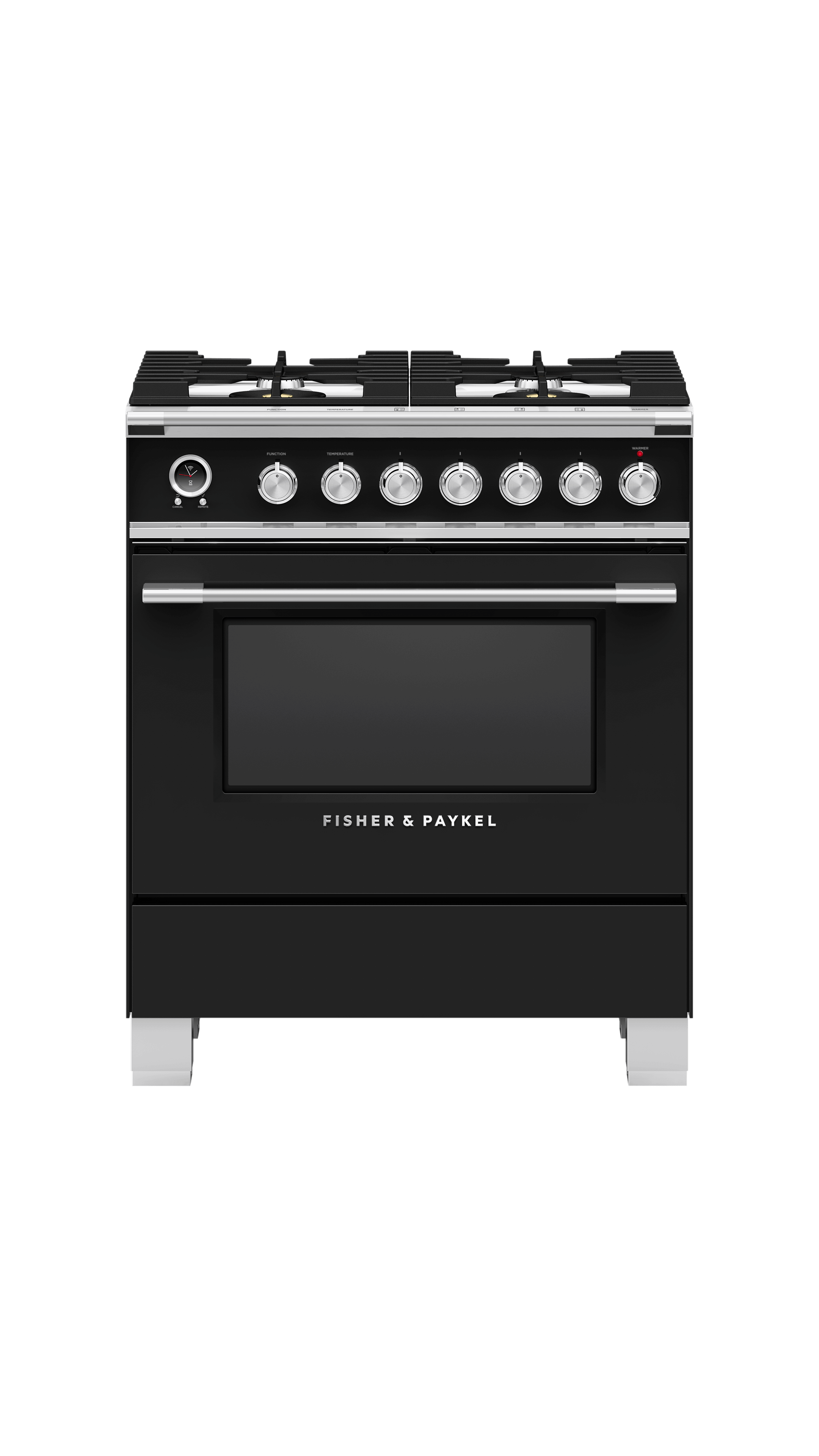 """Model: OR30SCG6B1   Fisher and Paykel Dual Fuel Range, 30"""""""
