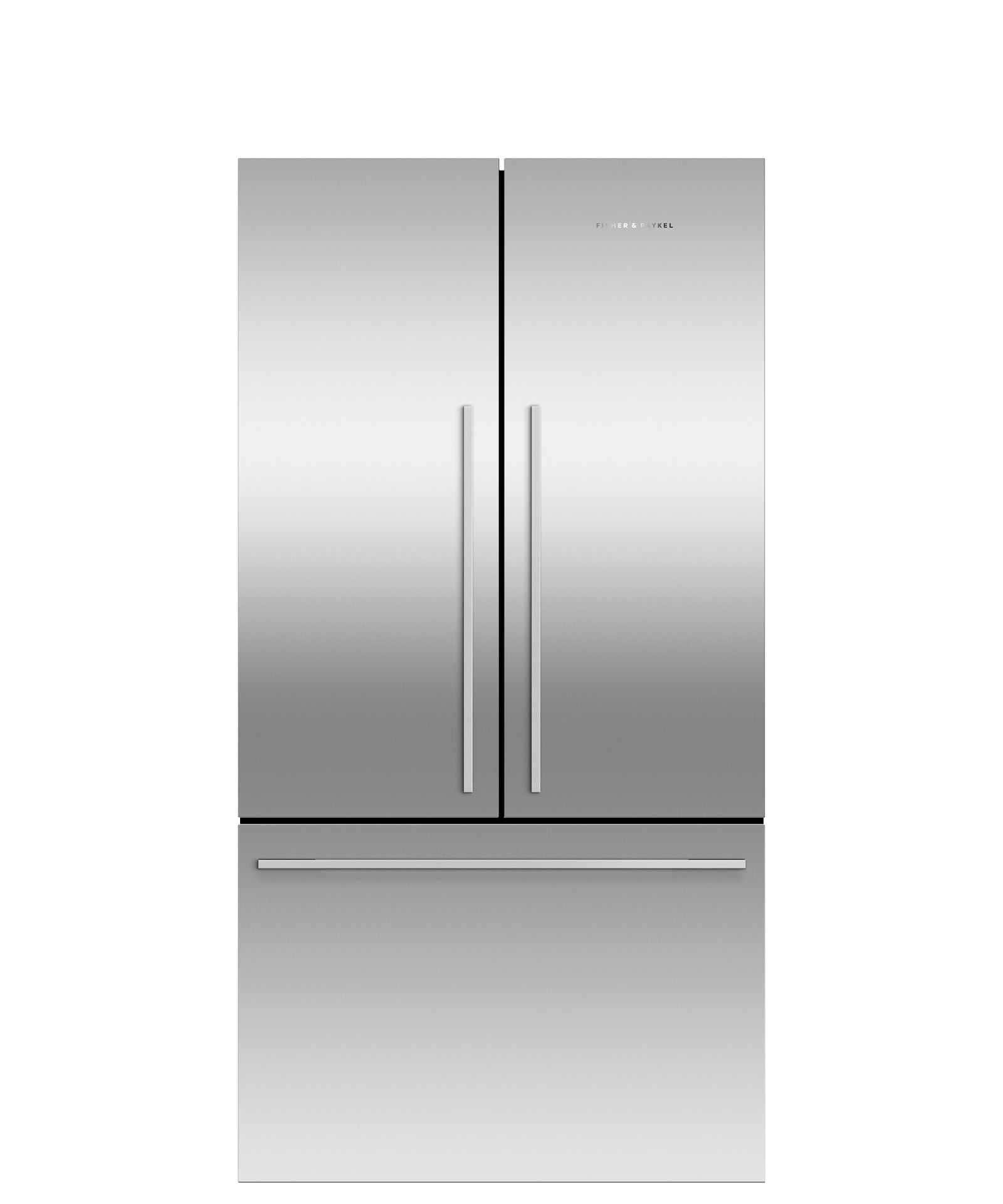 """Fisher and Paykel Freestanding French Door Refrigerator Freezer, 35 7/16"""", 20.1 cu ft, Ice only"""