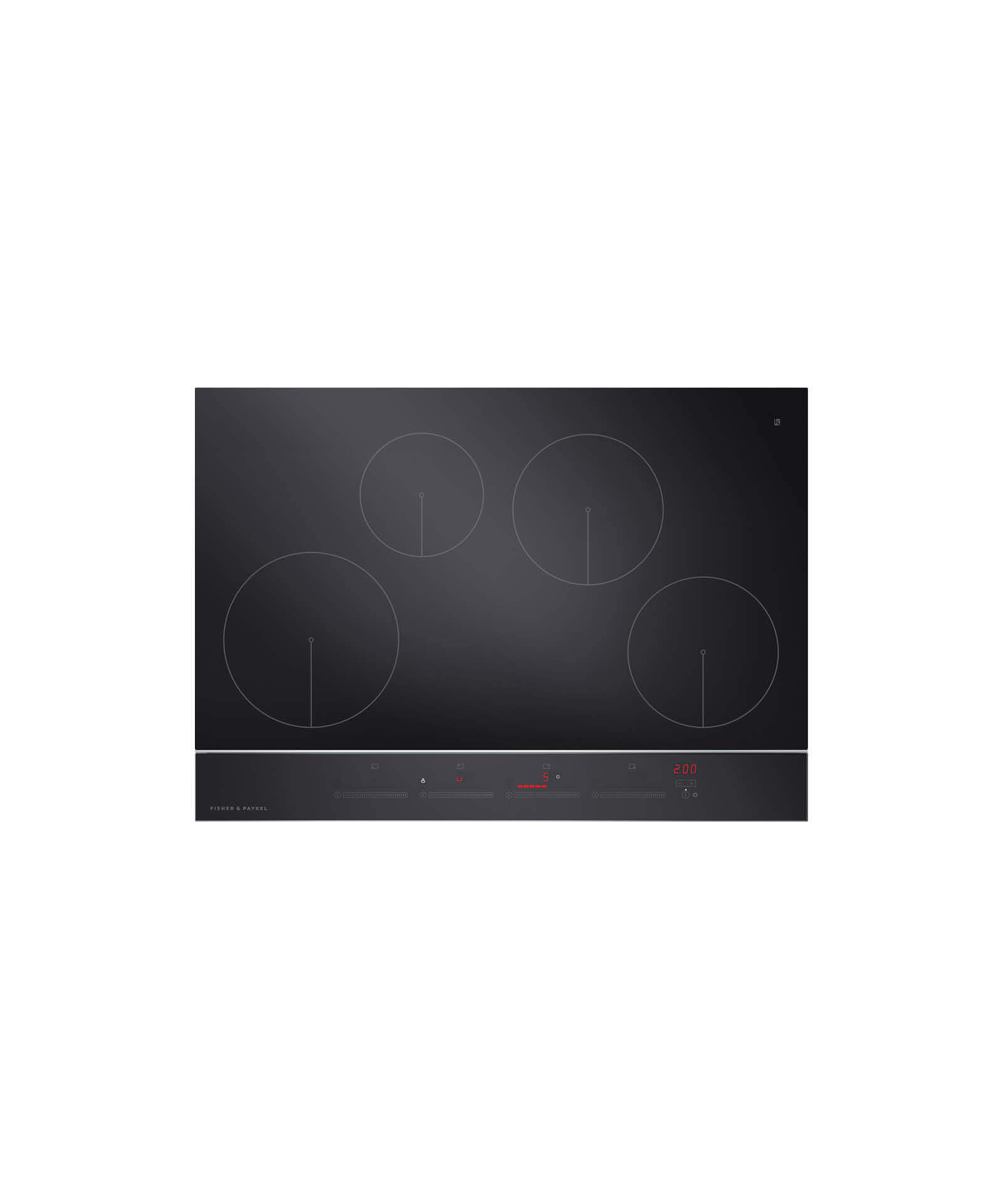 "Fisher and Paykel Induction Cooktop 30"", 4 Zone"