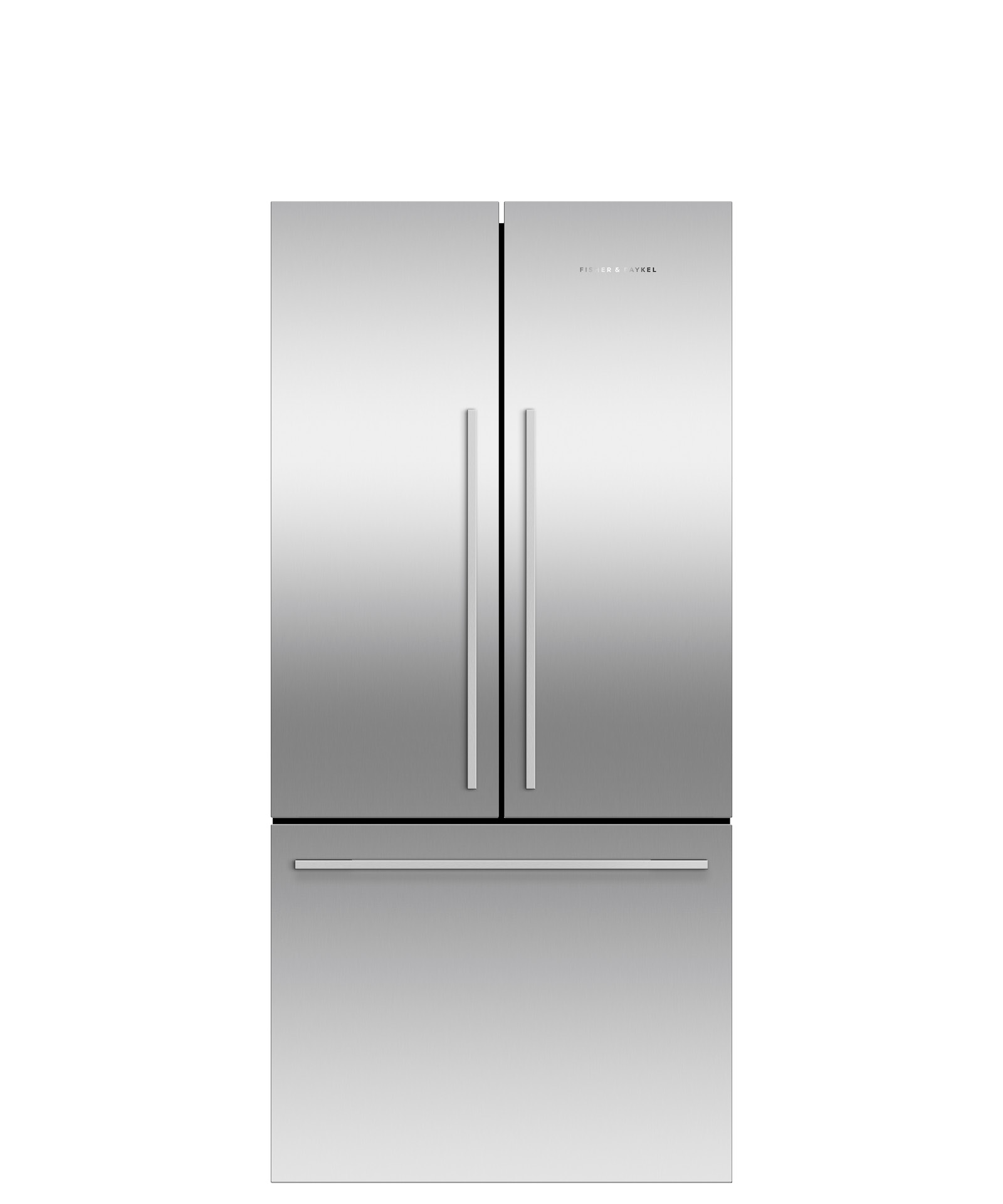 """Fisher and Paykel Freestanding French Door Refrigerator Freezer, 35 7/16"""", 16.9 cu ft, Ice only"""