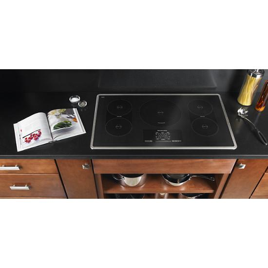 Model: KICU569XSS | KitchenAid 36-Inch 5-Element Induction Cooktop, Architect® Series II