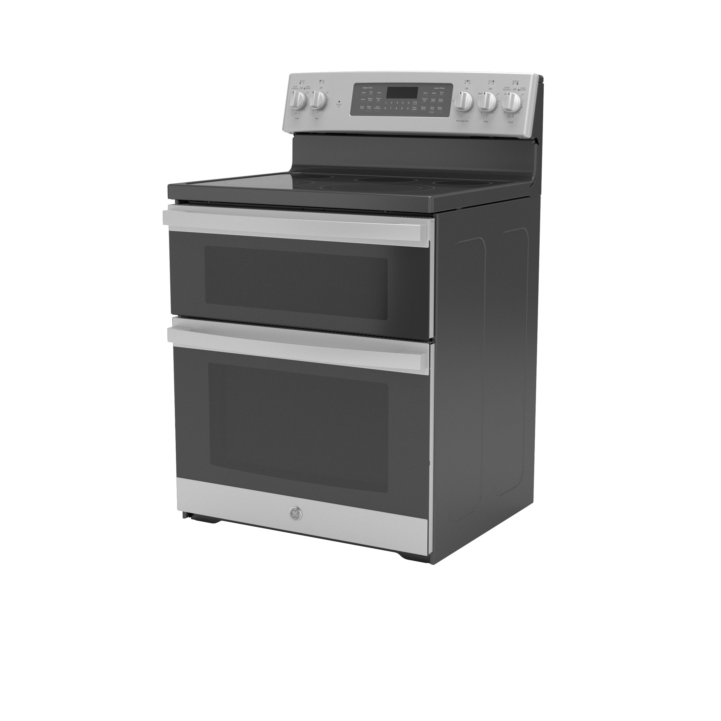 "Model: JBS86SPSS | GE GE® 30"" Free-Standing Electric Double Oven Convection Range"