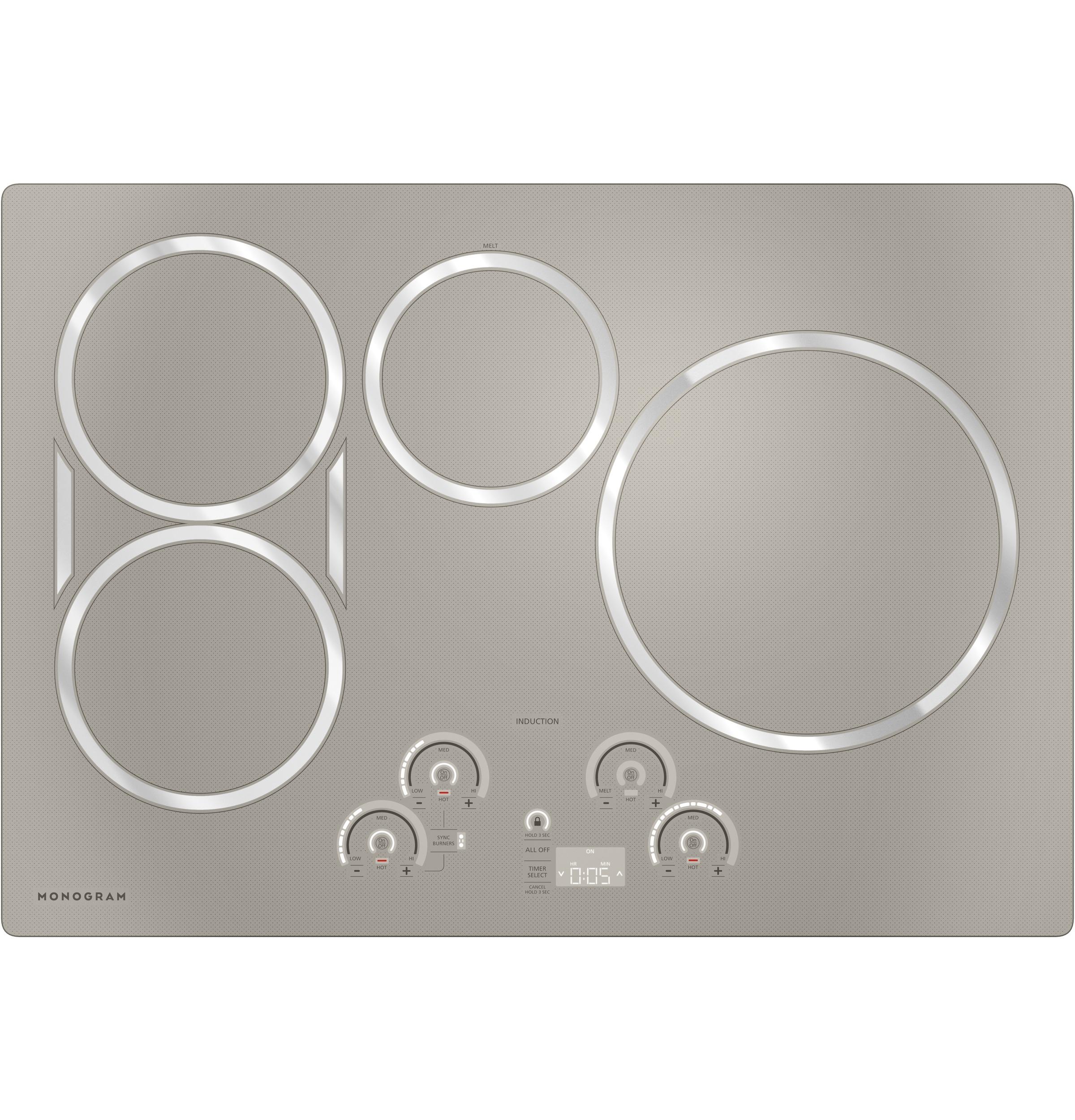 "Model: ZHU30RSJSS | Monogram Monogram 30"" Induction Cooktop"