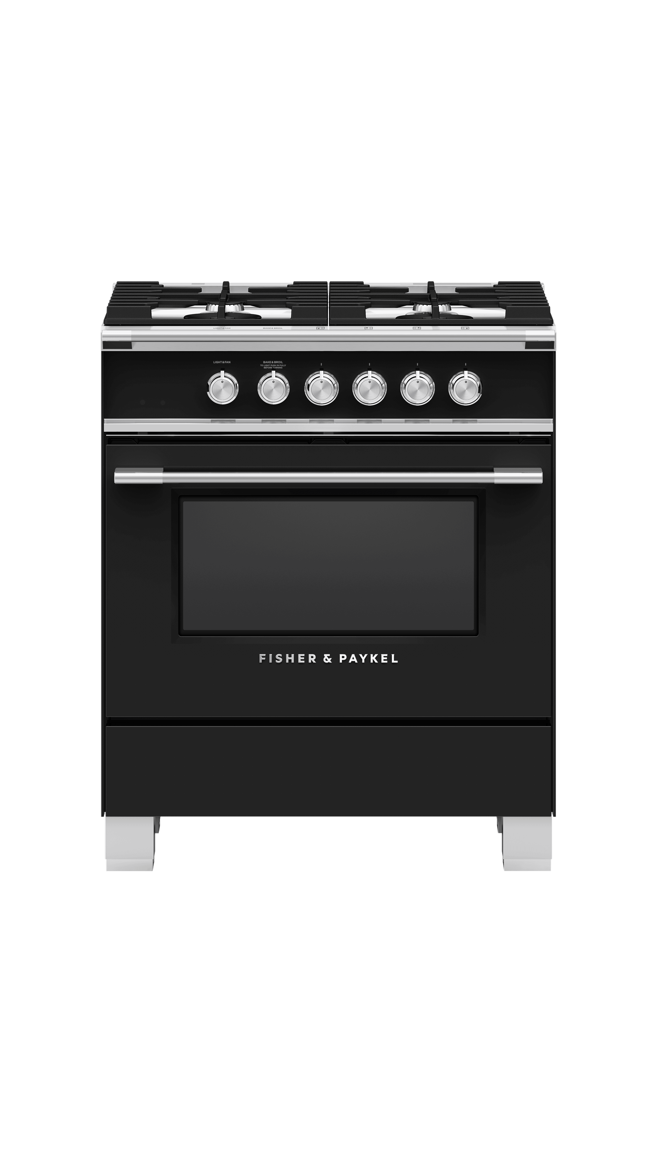 """Model: OR30SCG4B1   Fisher and Paykel Gas Range 30"""""""