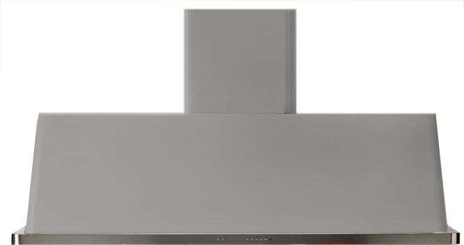 """Ilve 60"""" Wall Mount Range Hood With 600 CFM Blower  Anti-Grease Filter  2 Warming Lights  Filter Light Indicator  Auto-Off Function  And 4 Fan Speeds"""