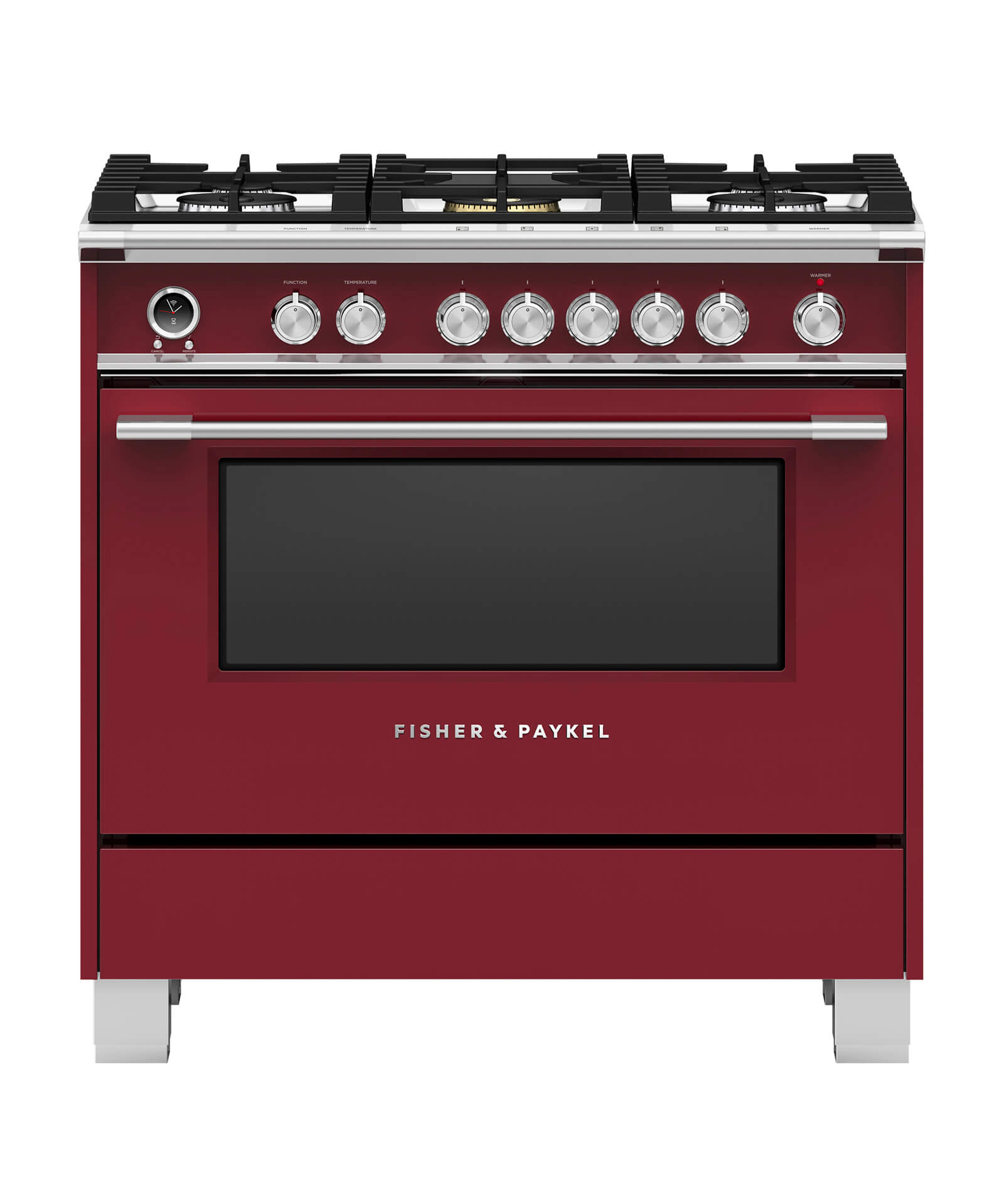 Model: OR36SCG6R1 | Fisher and Paykel Dual Fuel Range 36""