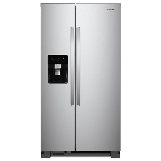 Model: WRS315SDHZ | Whirlpool 36-inch Wide Side-by-Side Refrigerator - 24 cu. ft.
