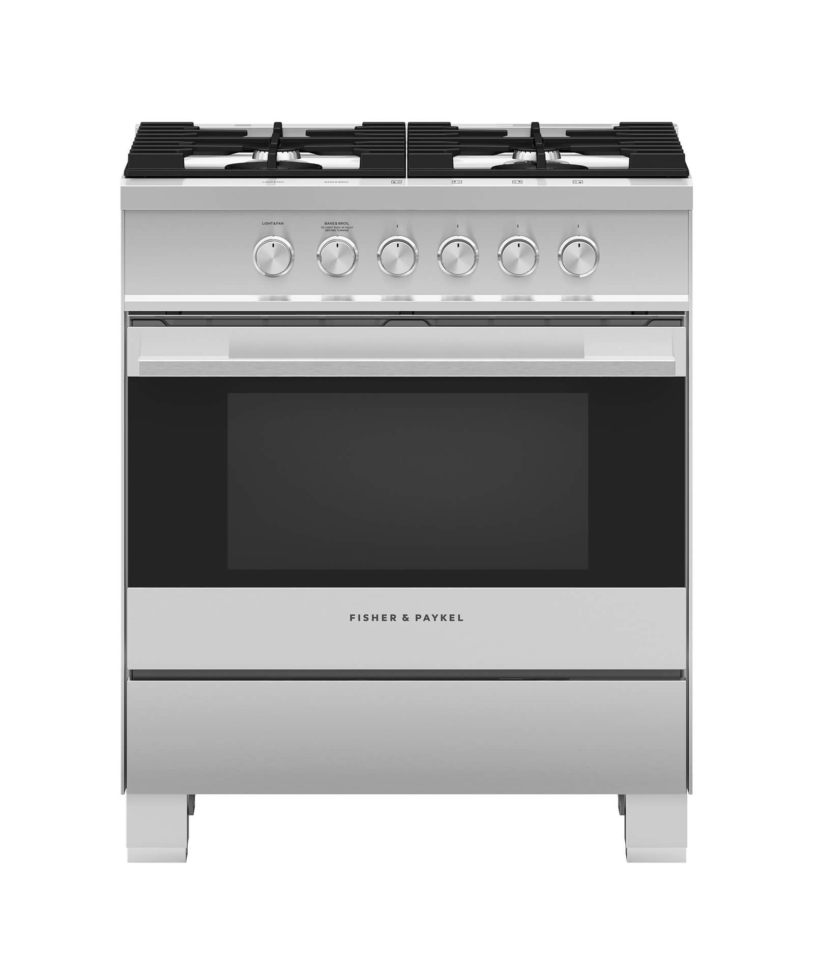 """Fisher and Paykel Gas Range, 30"""""""