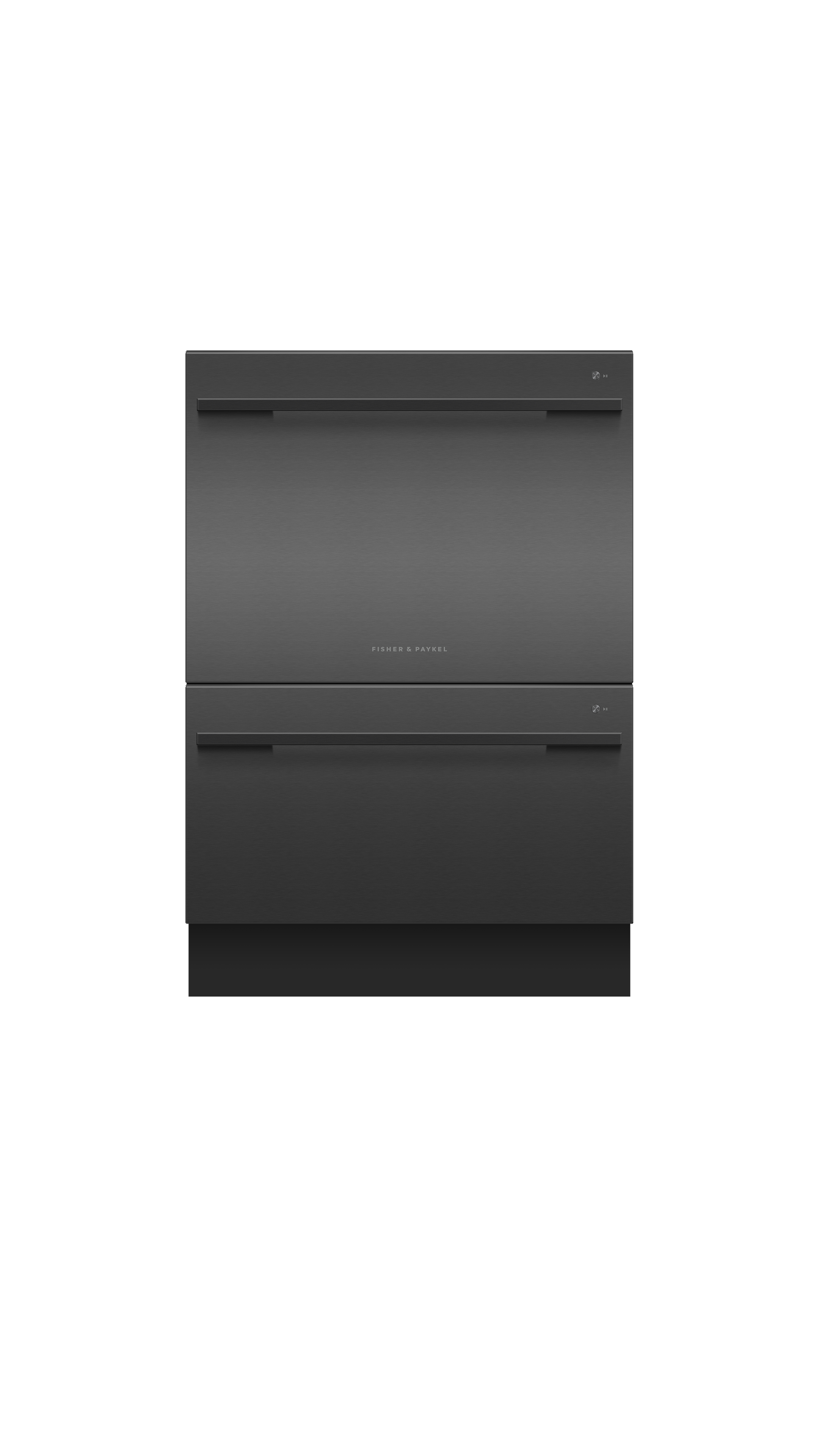 Model: DD24DDFTB9_N | Fisher and Paykel Double DishDrawer™, 14 Place Settings, Sanitize (Tall)