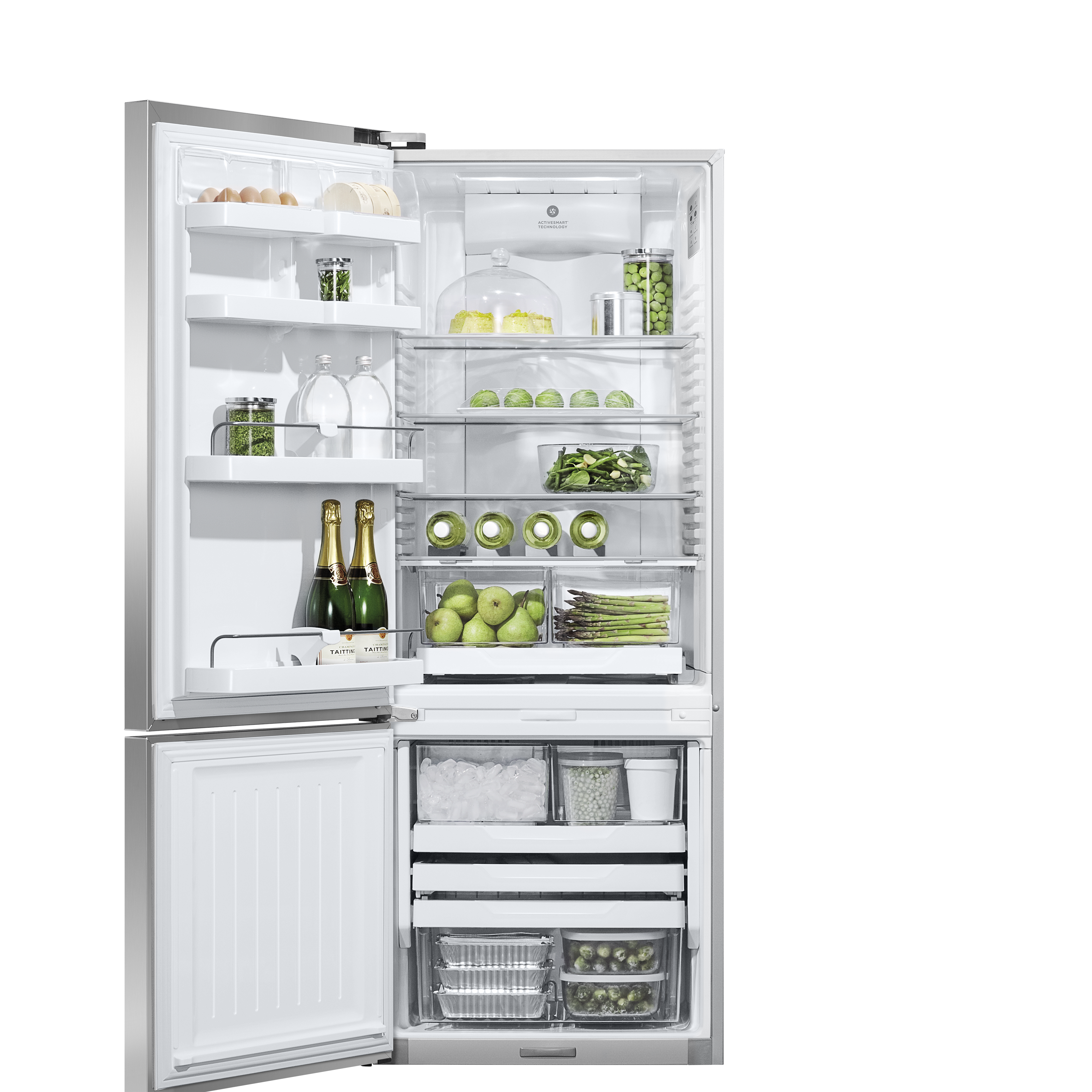 "Model: RF135BDLJX4 | Fisher and Paykel Freestanding Refrigerator Freezer, 25"", 13.5 cu ft, Ice only"