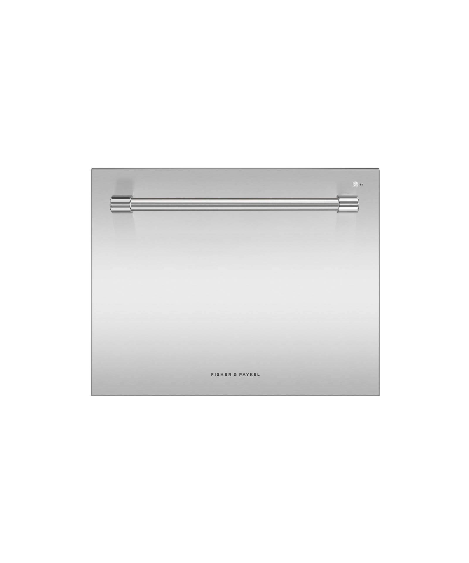 """Fisher and Paykel SCRATCH AND DENT--24"""" Single DishDrawer Dishwasher, 7 Place Settings, Sanitize (Tall)"""