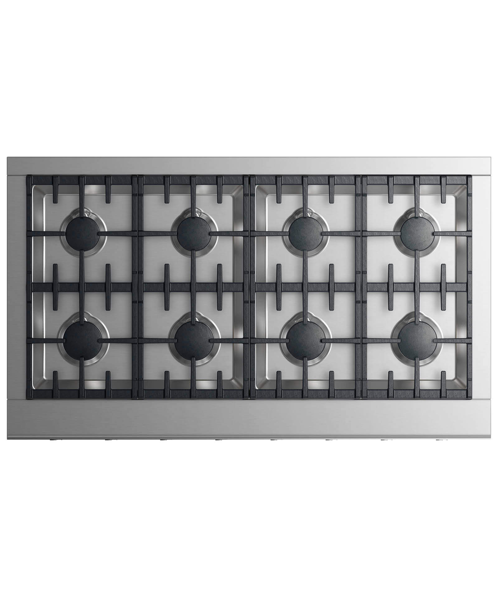 """Fisher and Paykel Gas Rangetop 48"""" 8 burners"""