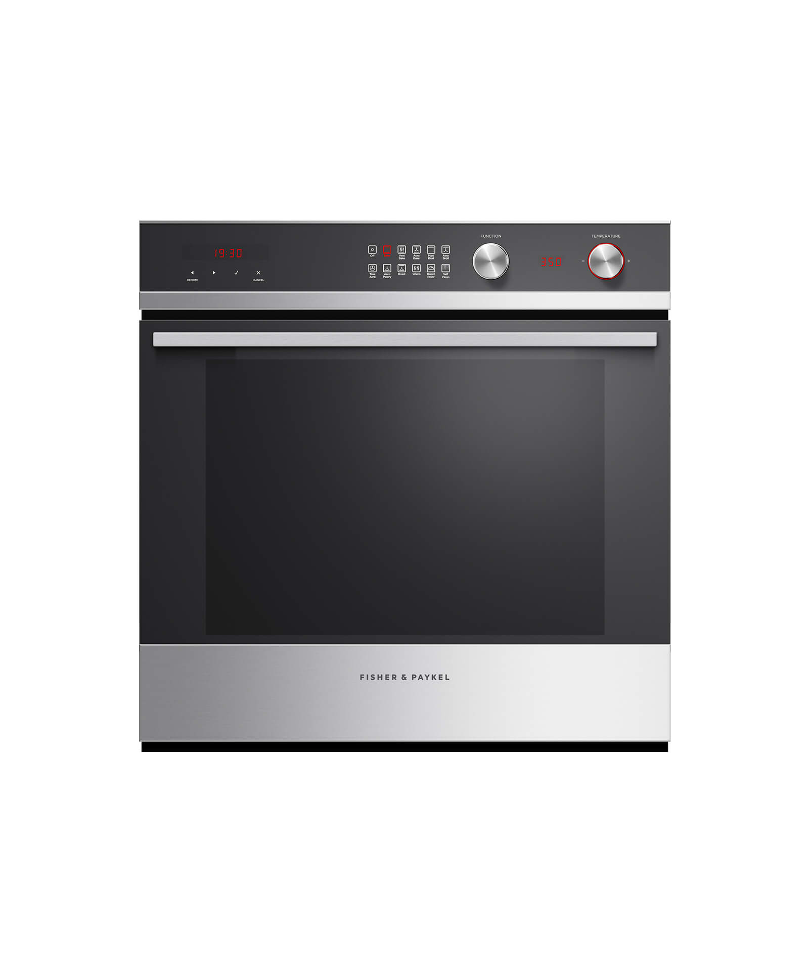 """Fisher and Paykel Built-in Oven, 24"""", 3 cu ft, 11 Function, Self-cleaning"""
