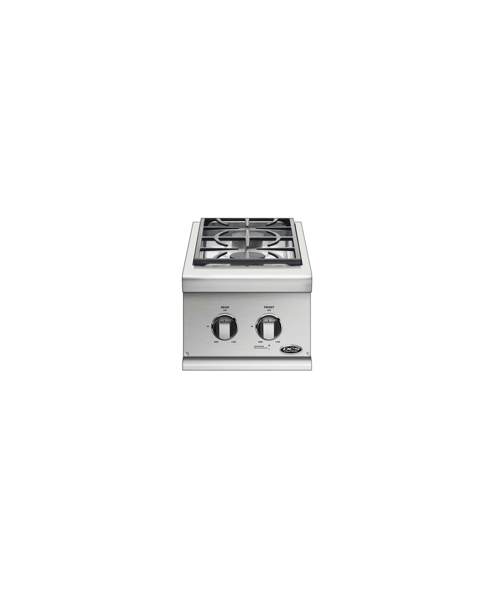 "DCS 14"" Series 7 Double Side Burner, Natural Gas"