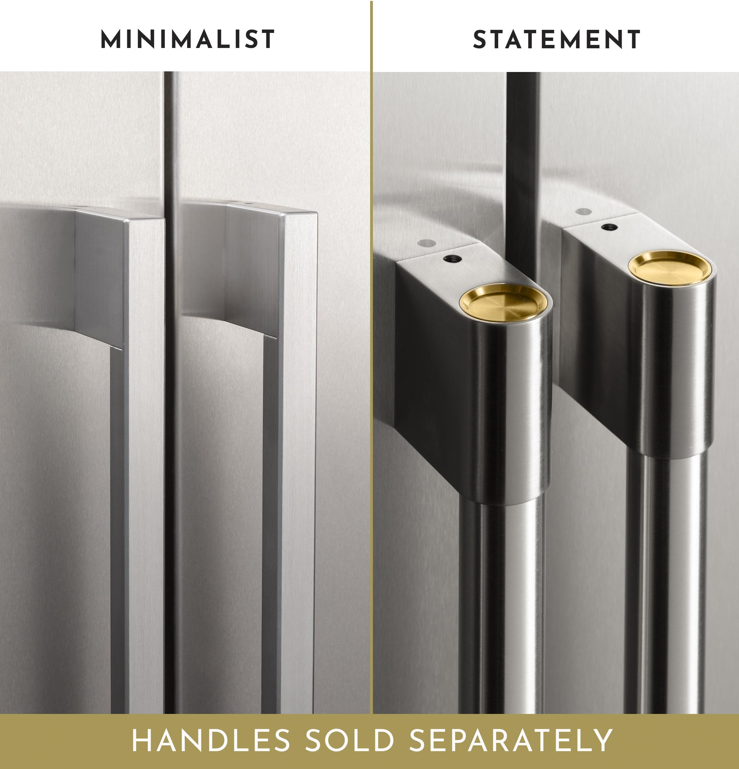"Model: ZISS480DNSS | Monogram Monogram 48"" Smart Built-In Side-by-Side Refrigerator with Dispenser"