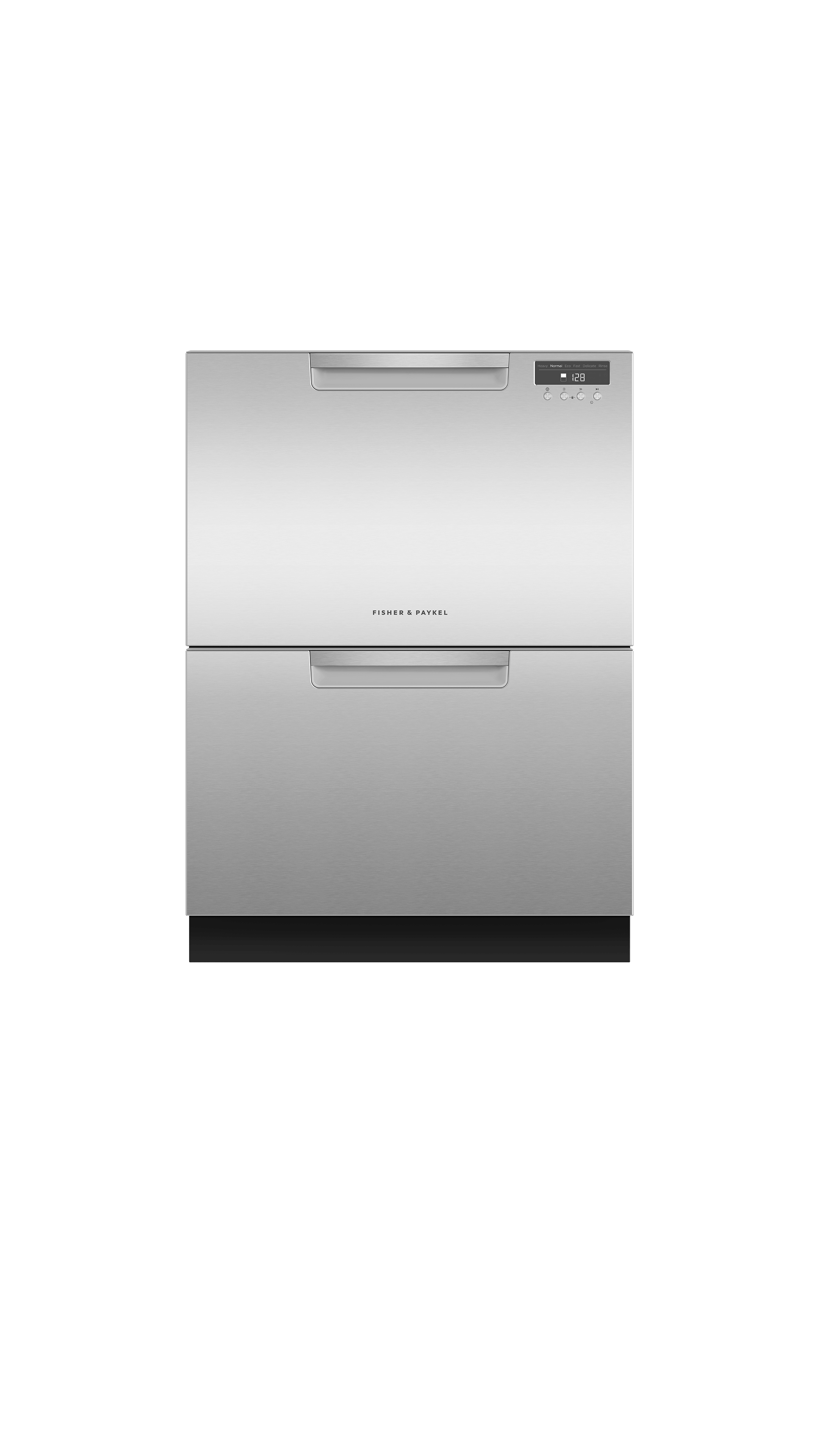 Model: DD24DAX9_N | Fisher and Paykel Double DishDrawer™ Dishwasher, 14 Place Settings
