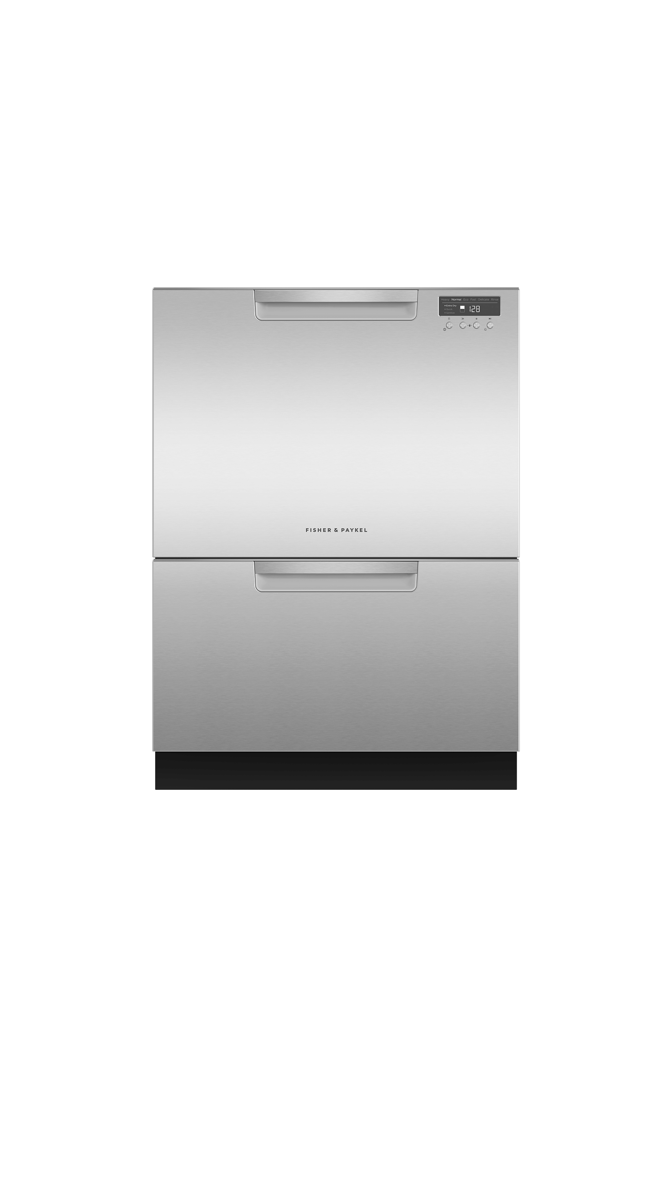Model: DD24DCHTX9_N | Fisher and Paykel Double DishDrawer™, 14 Place Settings, Water Softener (Tall)