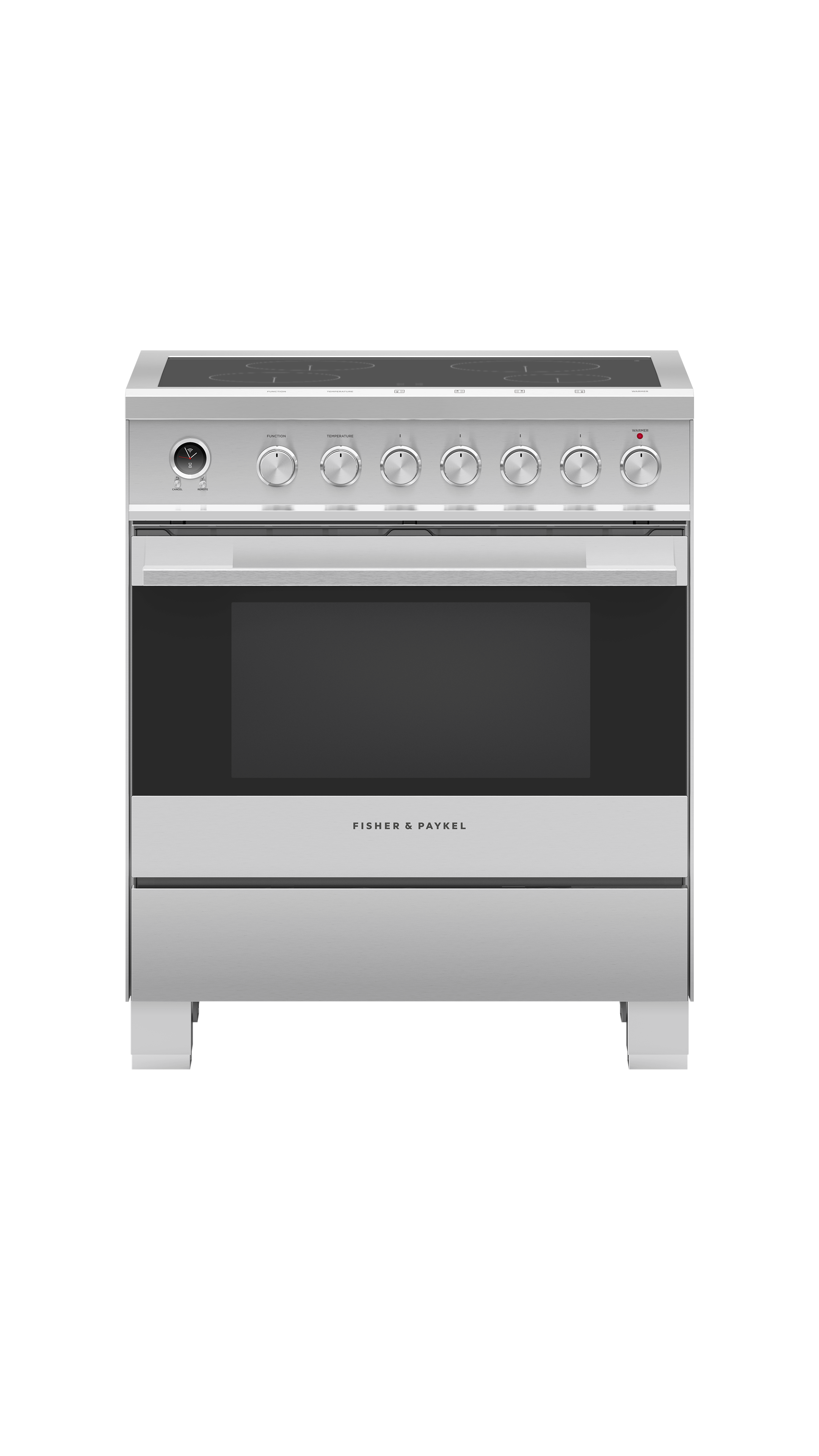 """Model: OR30SDI6X1   Fisher and Paykel Induction Range 30"""""""