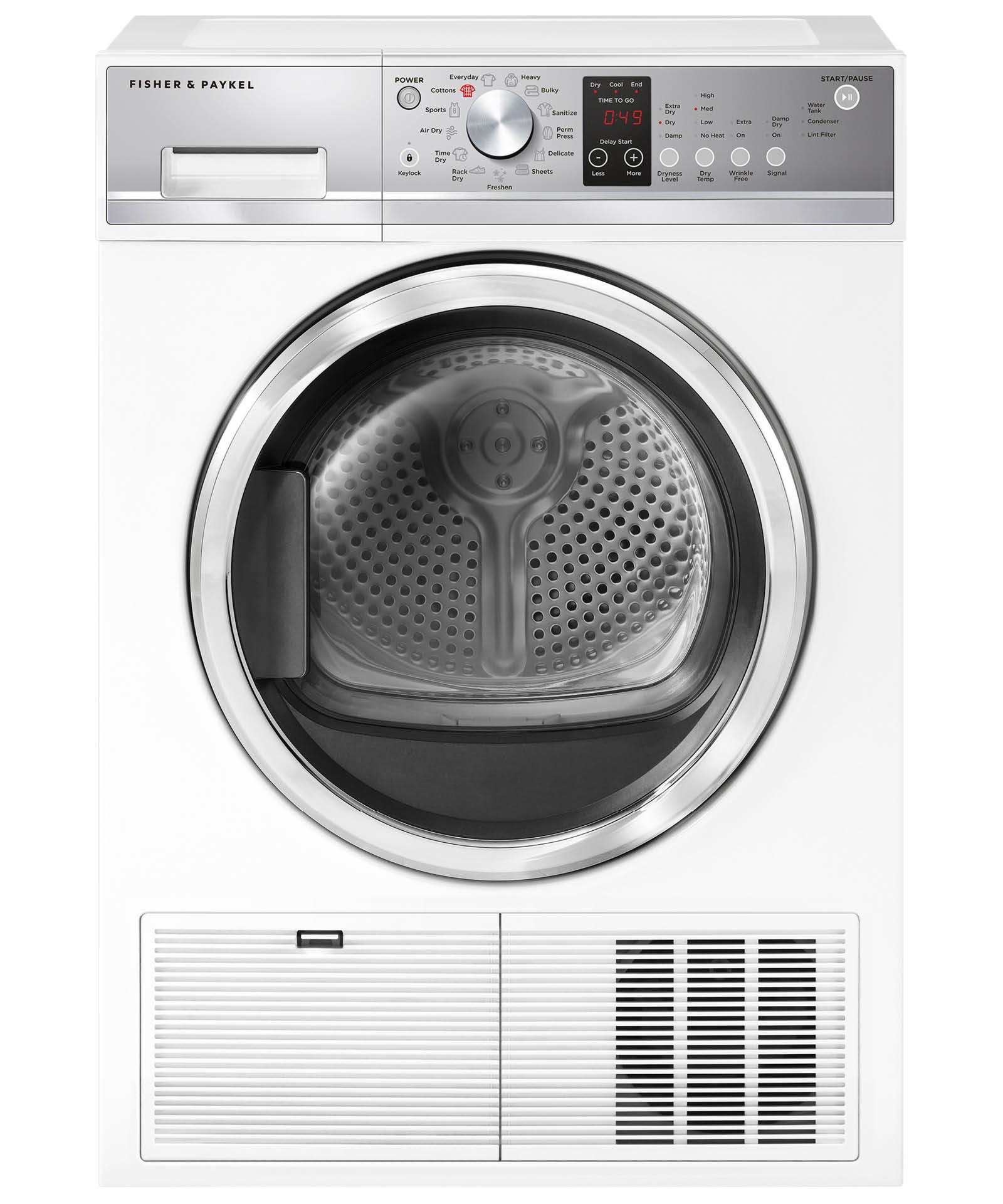 Model: DE4024P1 | Fisher and Paykel Condensing dryer, 4.0 cu ft, Autosensing