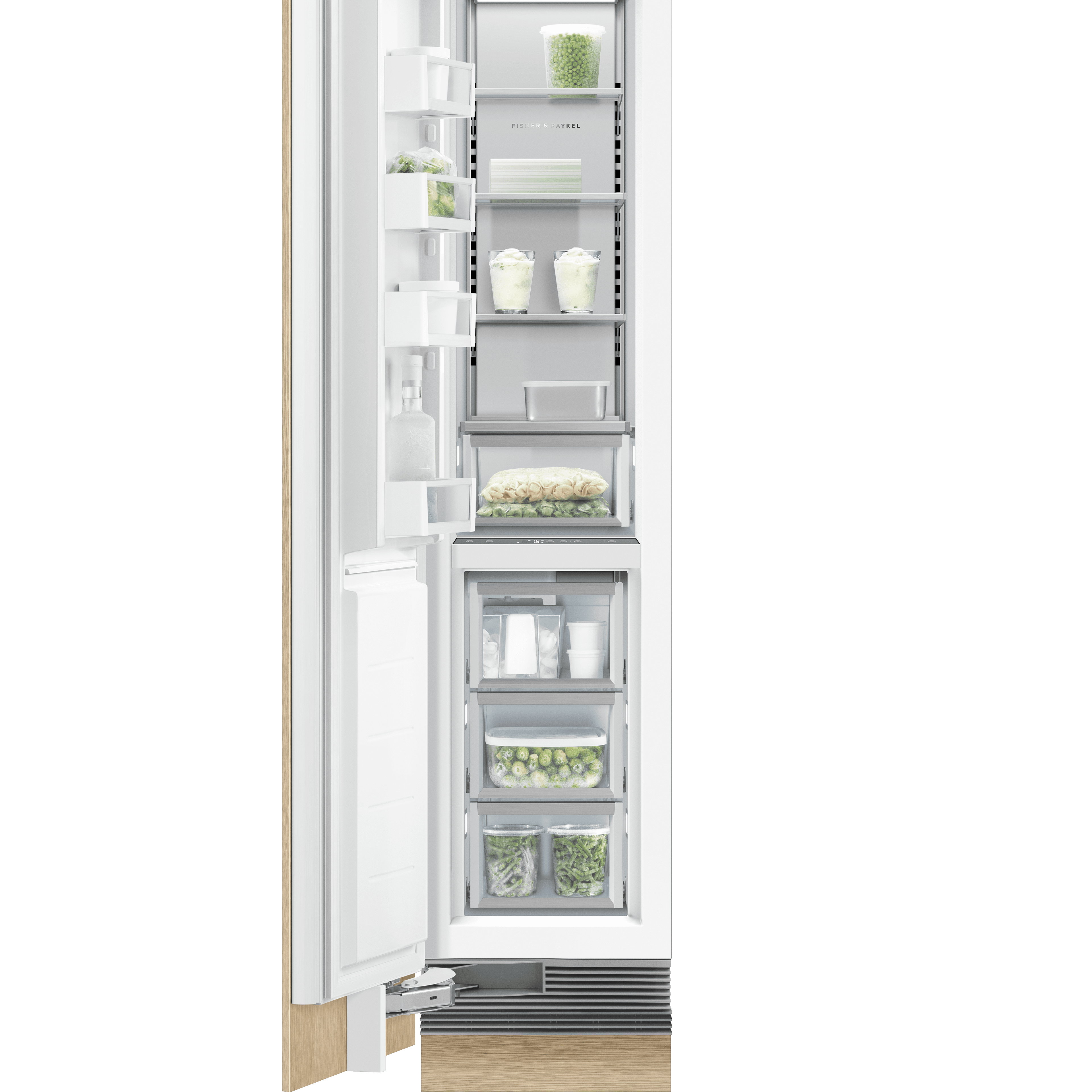 """Model: RS1884FLJ1   Fisher and Paykel Integrated Column Freezer 18"""""""