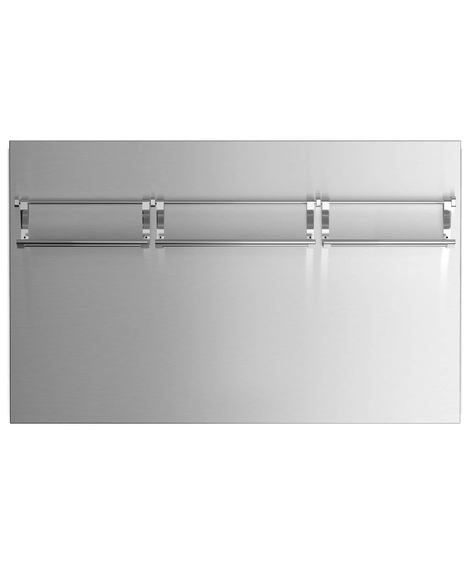 """Fisher and Paykel 48"""" Pro Cooktop High Backguard"""