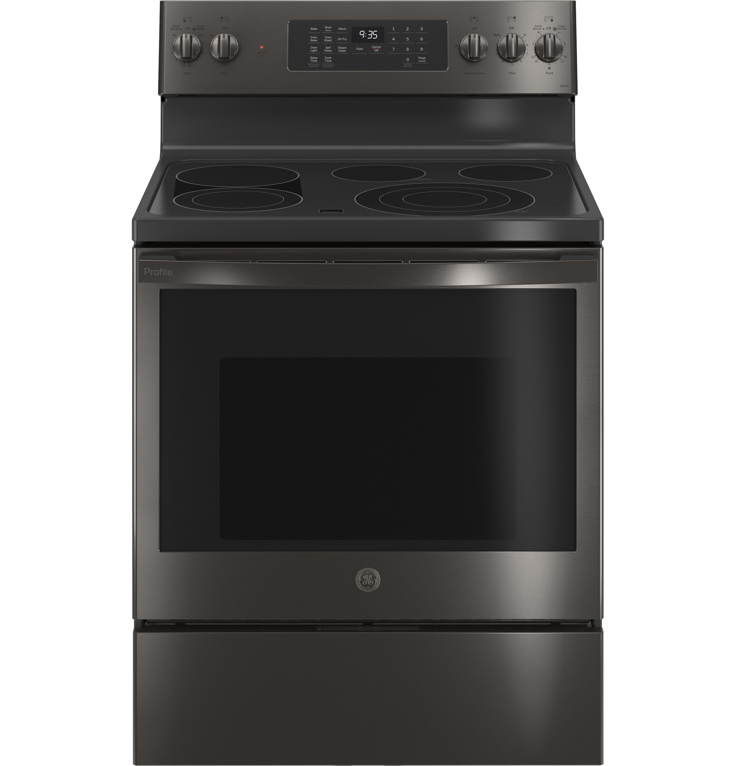 "GE Profile GE Profile™ 30"" Smart  Free-Standing Electric Convection Range with Air Fry"