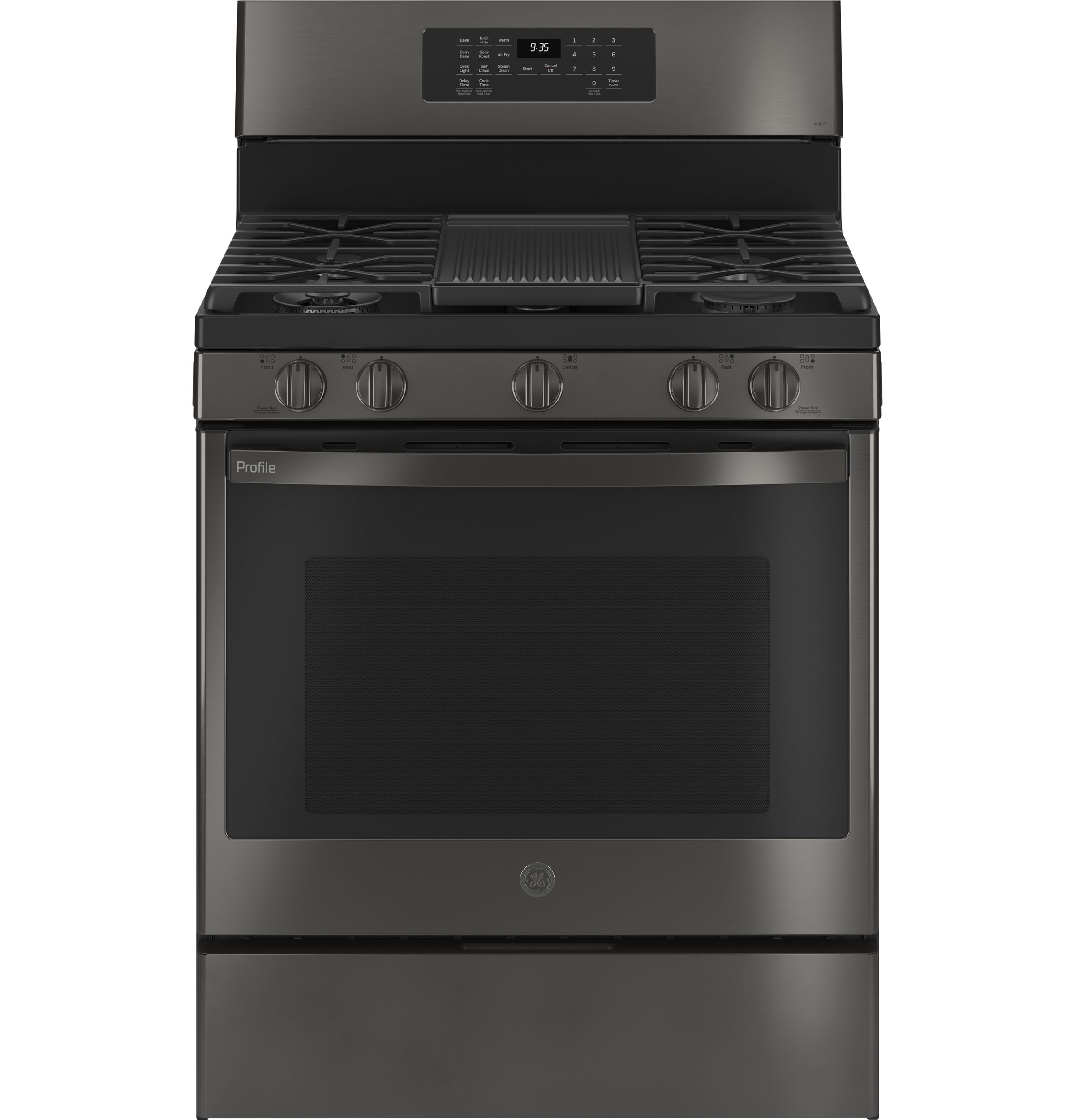 "Profile GE Profile™ Smart 30"" Free-Standing Self Clean Gas Range with No Preheat Air Fry"