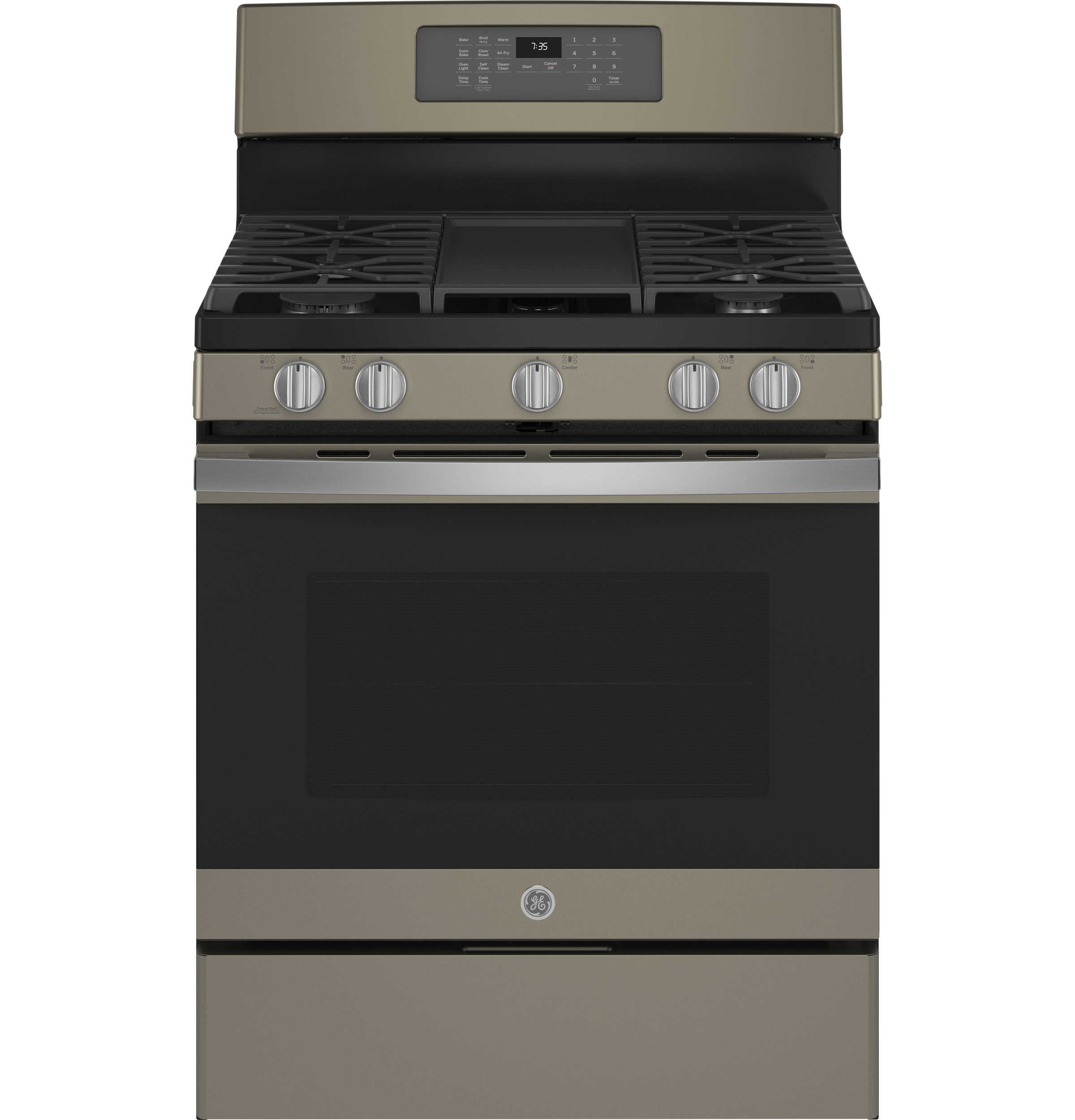 "GE GE® 30"" Free-Standing Gas Convection Range with No Preheat Air Fry"