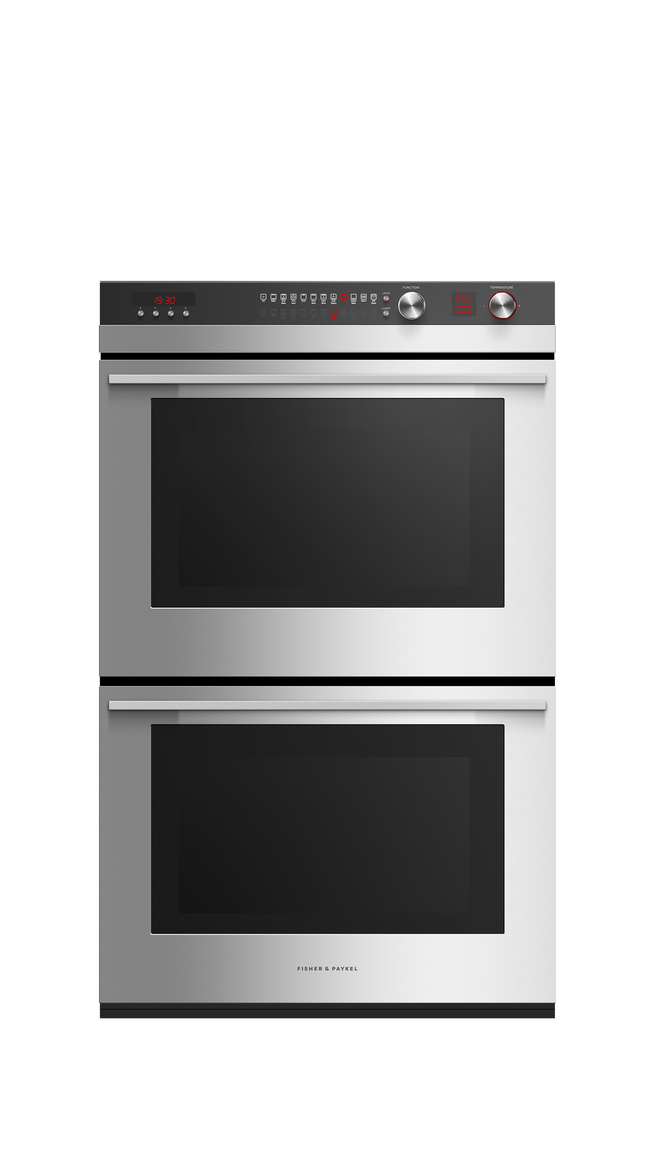 "Model: OB30DTEPX3_N | Fisher and Paykel Double Built-in Oven, 30"" 8.2 cu ft, 11 Function"