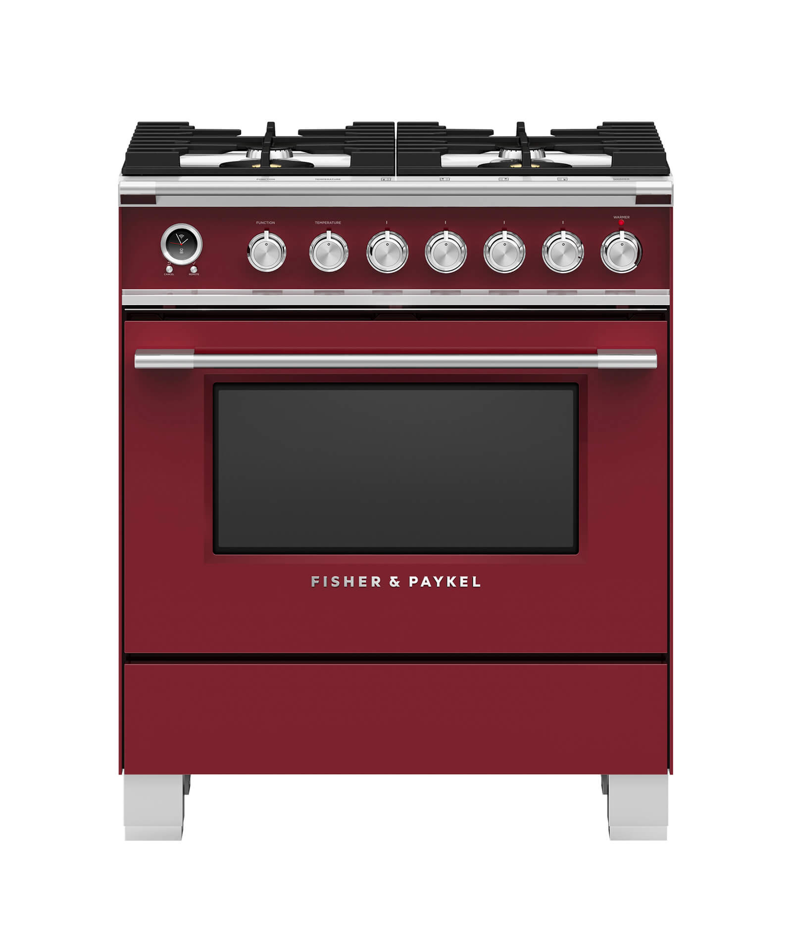 """Model: OR30SCG6R1   Fisher and Paykel Dual Fuel Range, 30"""""""