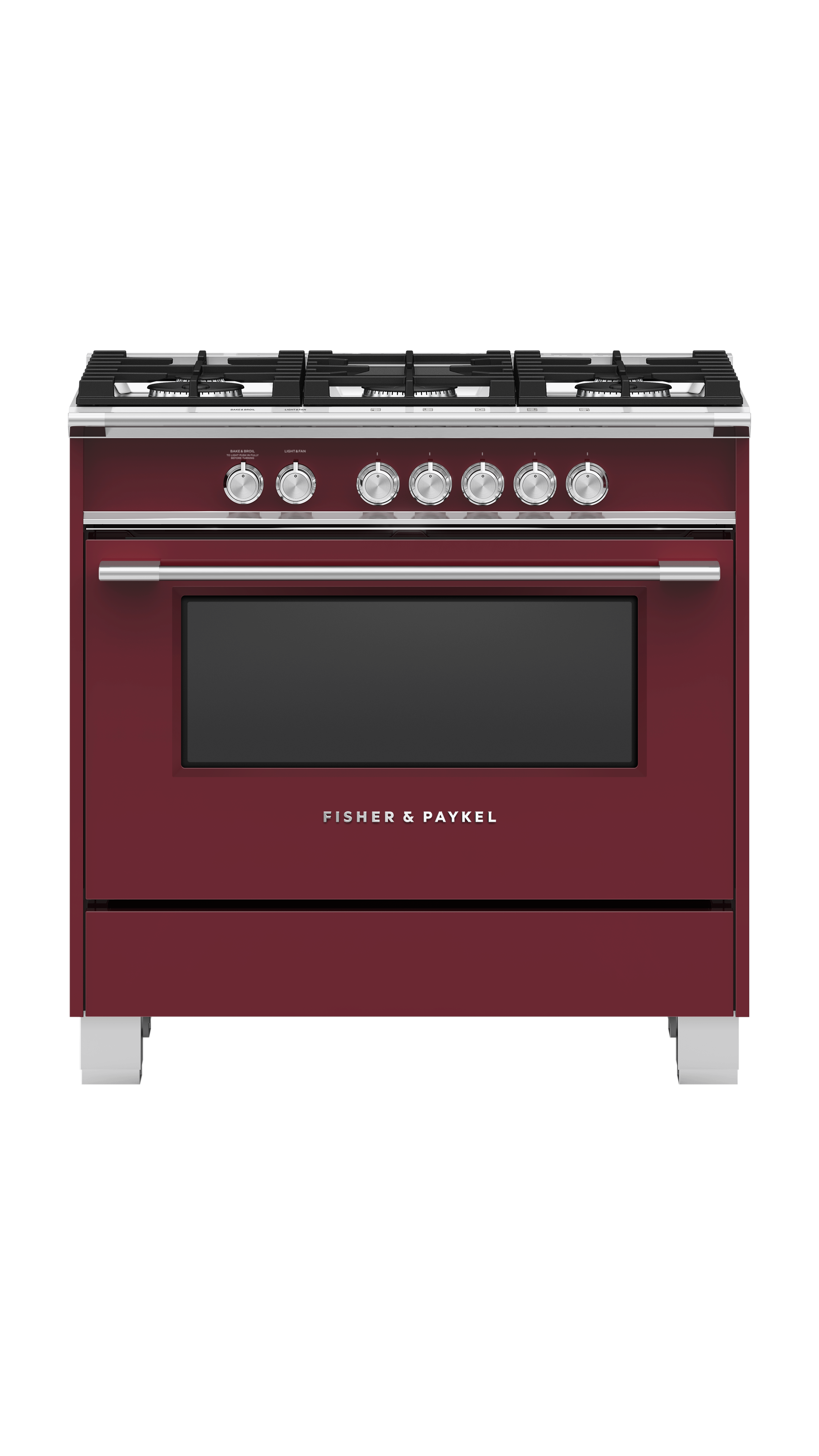 Model: OR36SCG4R1 | Fisher and Paykel Gas Range, 36""