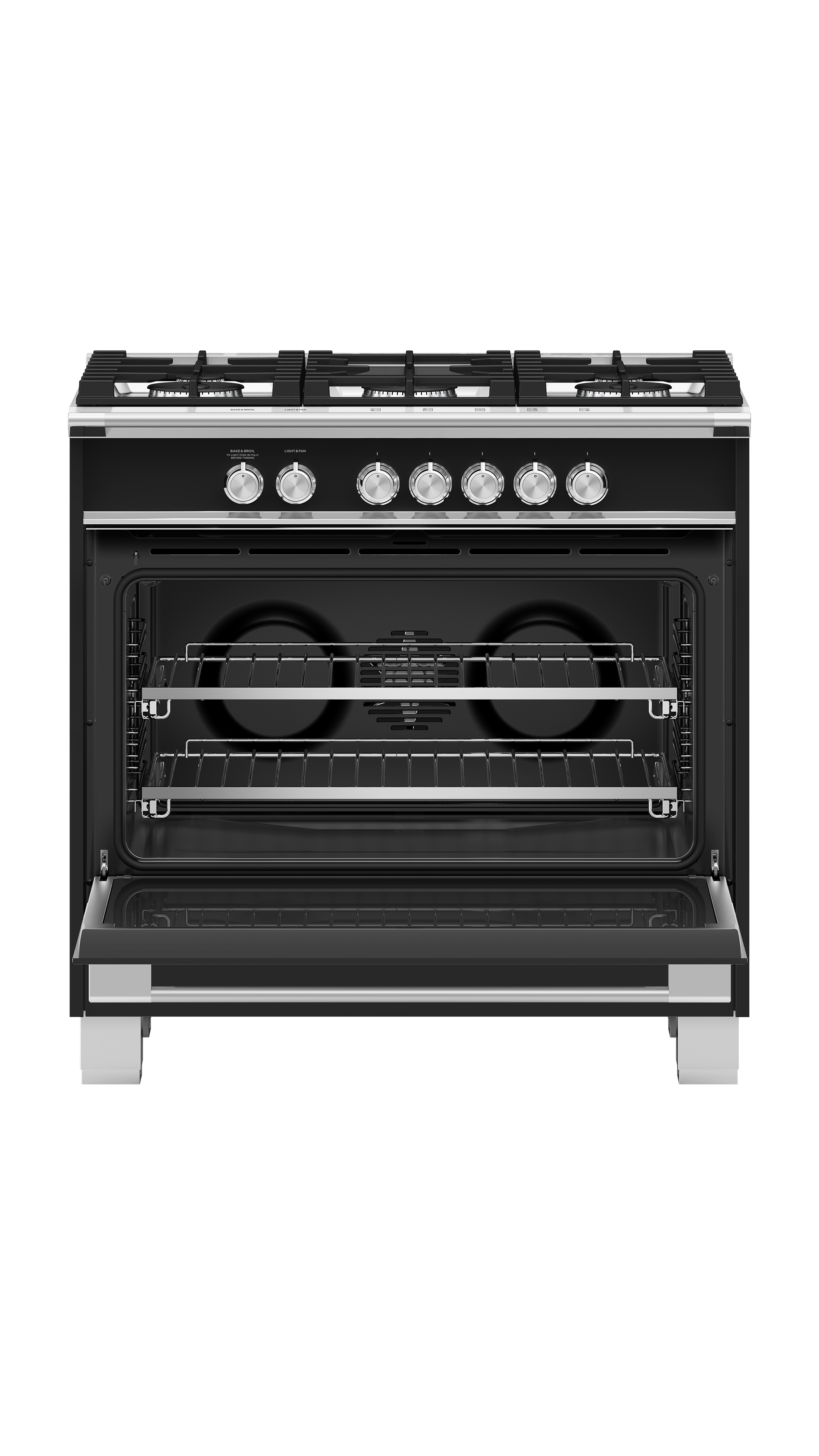 """Model: OR36SCG4B1   Fisher and Paykel Gas Range, 36"""""""