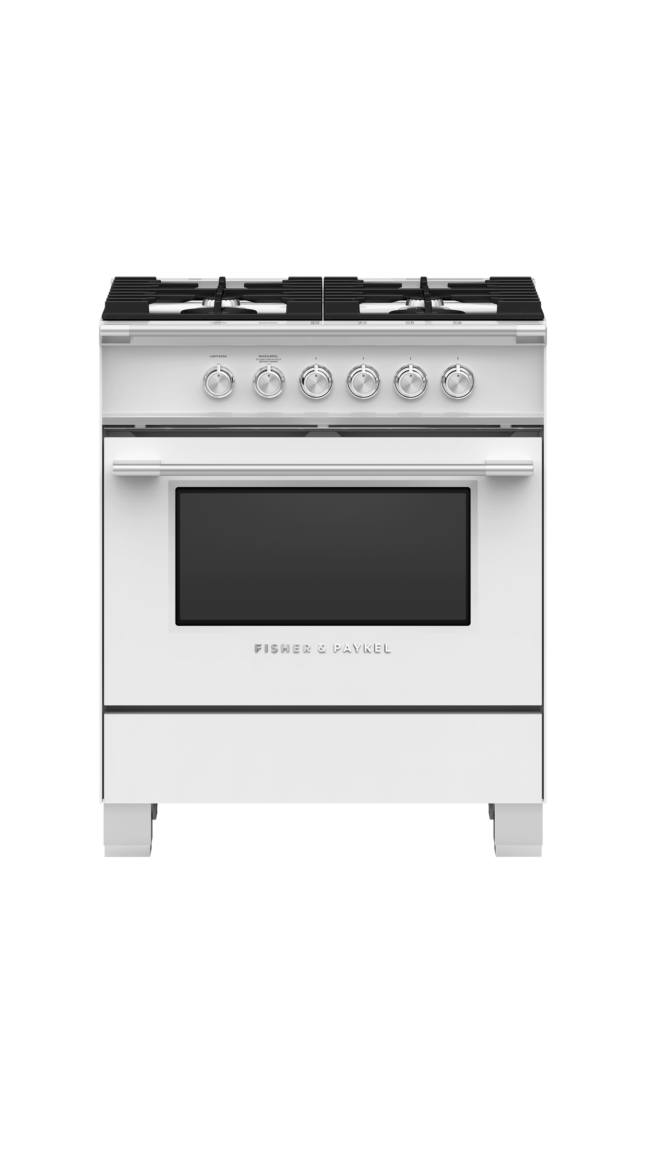 Model: OR30SCG4W1 | Fisher and Paykel Gas Range, 30""
