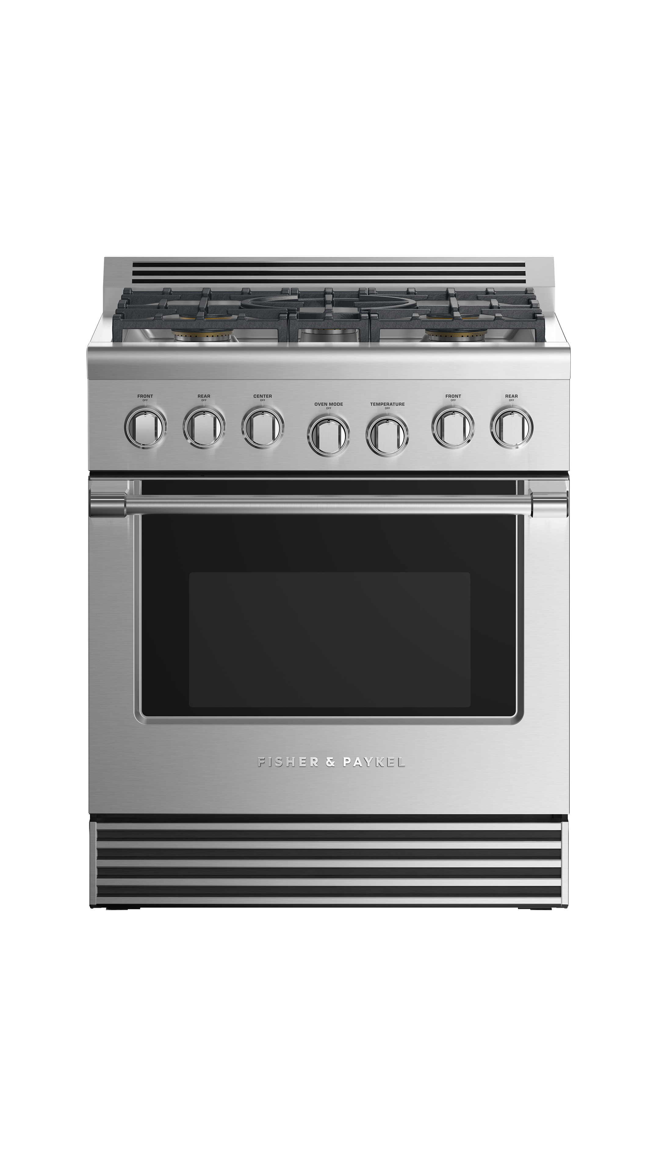 "Model: RGV2-305-L_N | Fisher and Paykel Gas Range 30"", 5 Burners (LPG)"