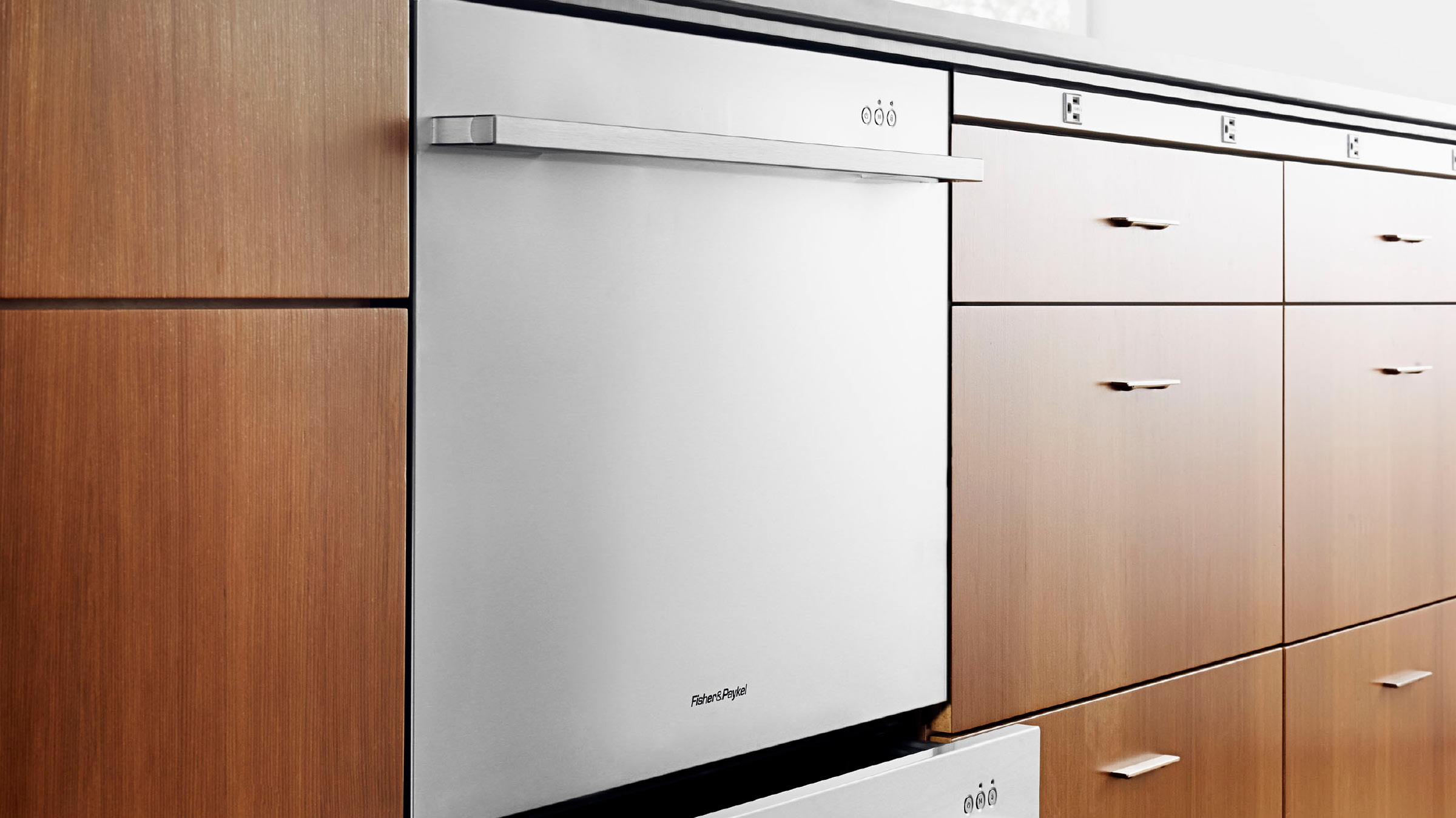 Model: DD24DDFTX9_N | Fisher and Paykel Double DishDrawer™, 14 Place Settings, Sanitize (Tall)
