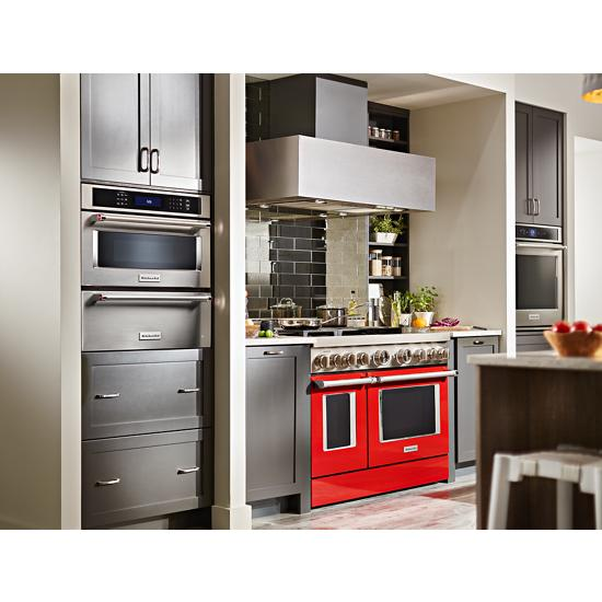 "Model: KOSE900HSS | KitchenAid Smart Oven+ 30"" Single Oven with Powered Attachments"