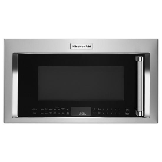 "Model: KMHC319KPS | KitchenAid 30"" 1000-Watt Microwave Hood Combination with Convection Cooking"