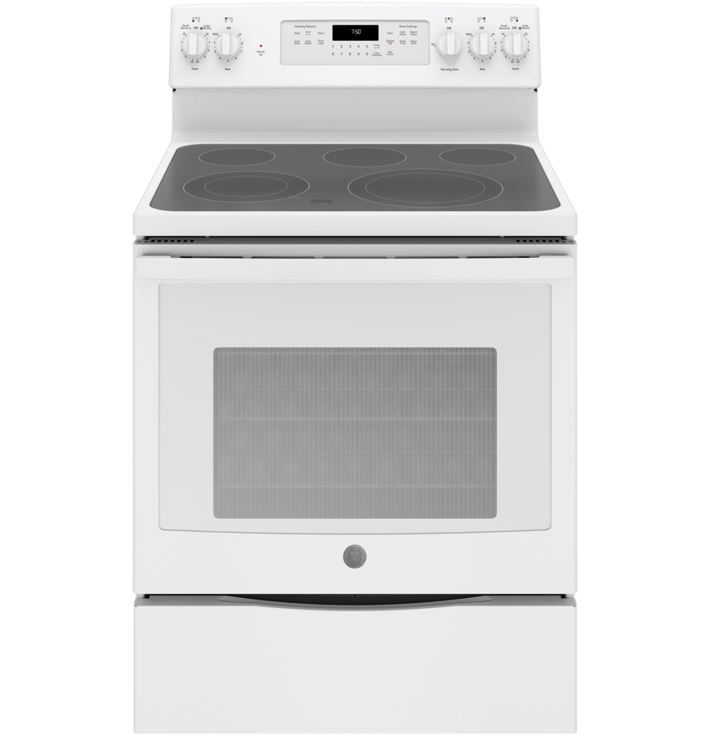 "Cafe GE® 30"" Free-Standing Electric Convection Range"